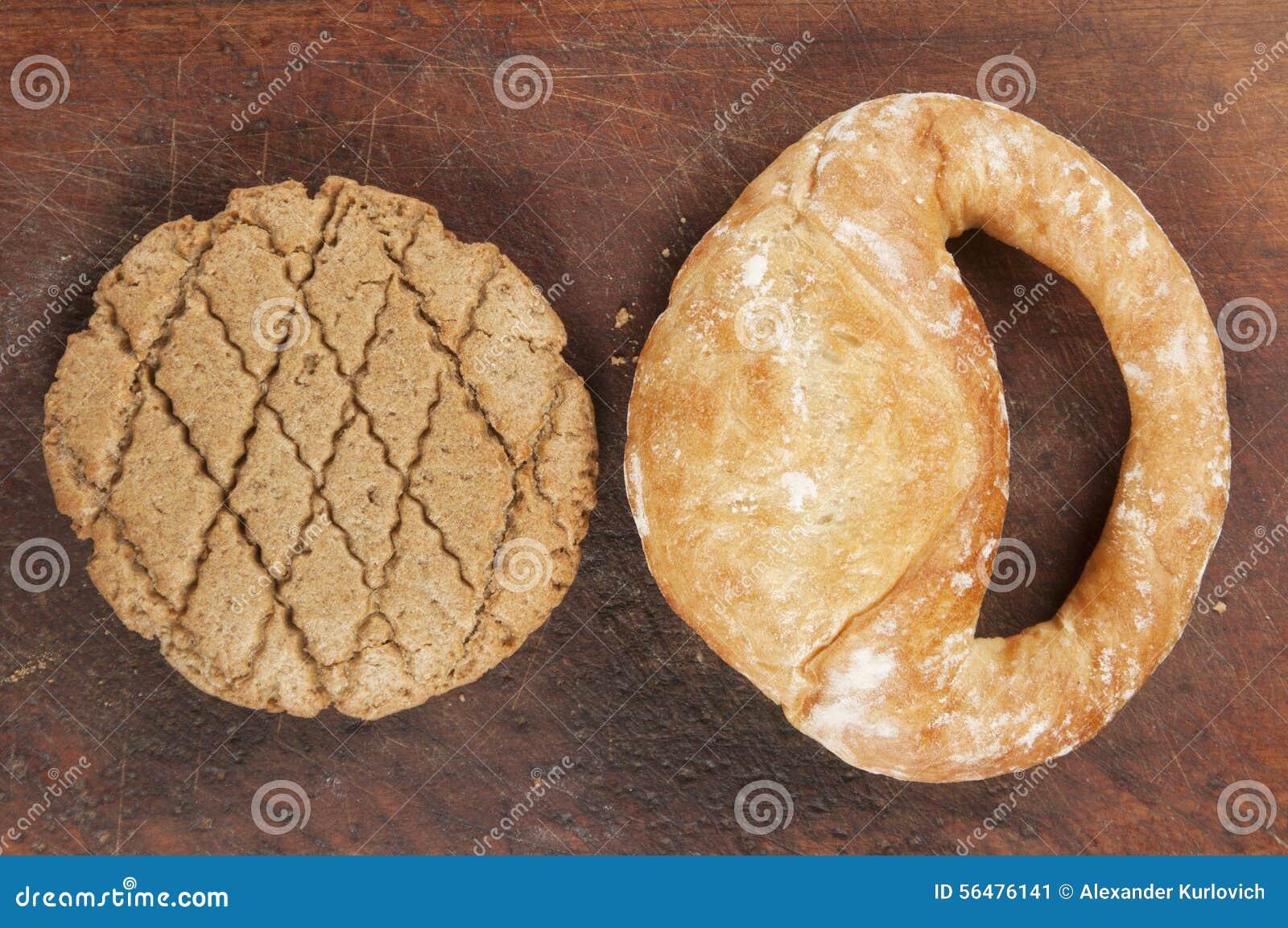 Kolatch et biscuit à l avoine de seigle