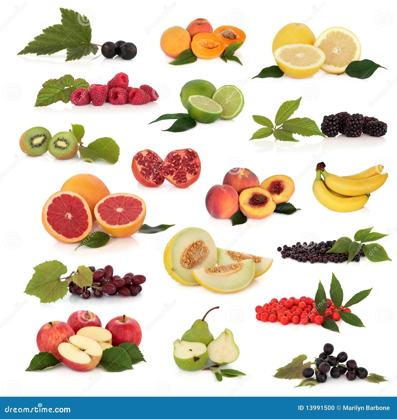 Kolekci owoc