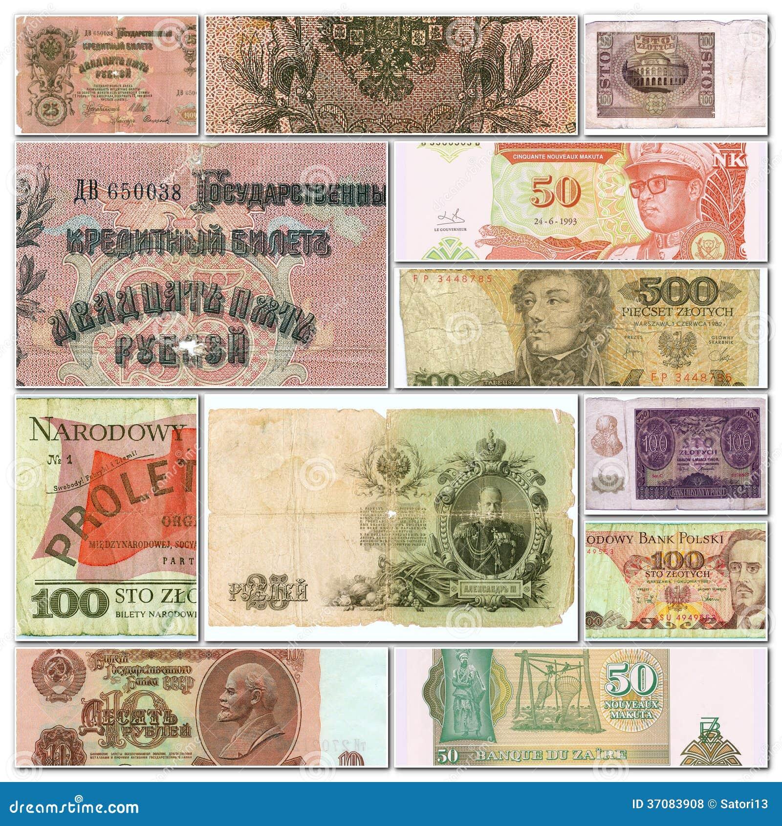 Download Kolekcja banknoty zdjęcie stock. Obraz złożonej z biznes - 37083908