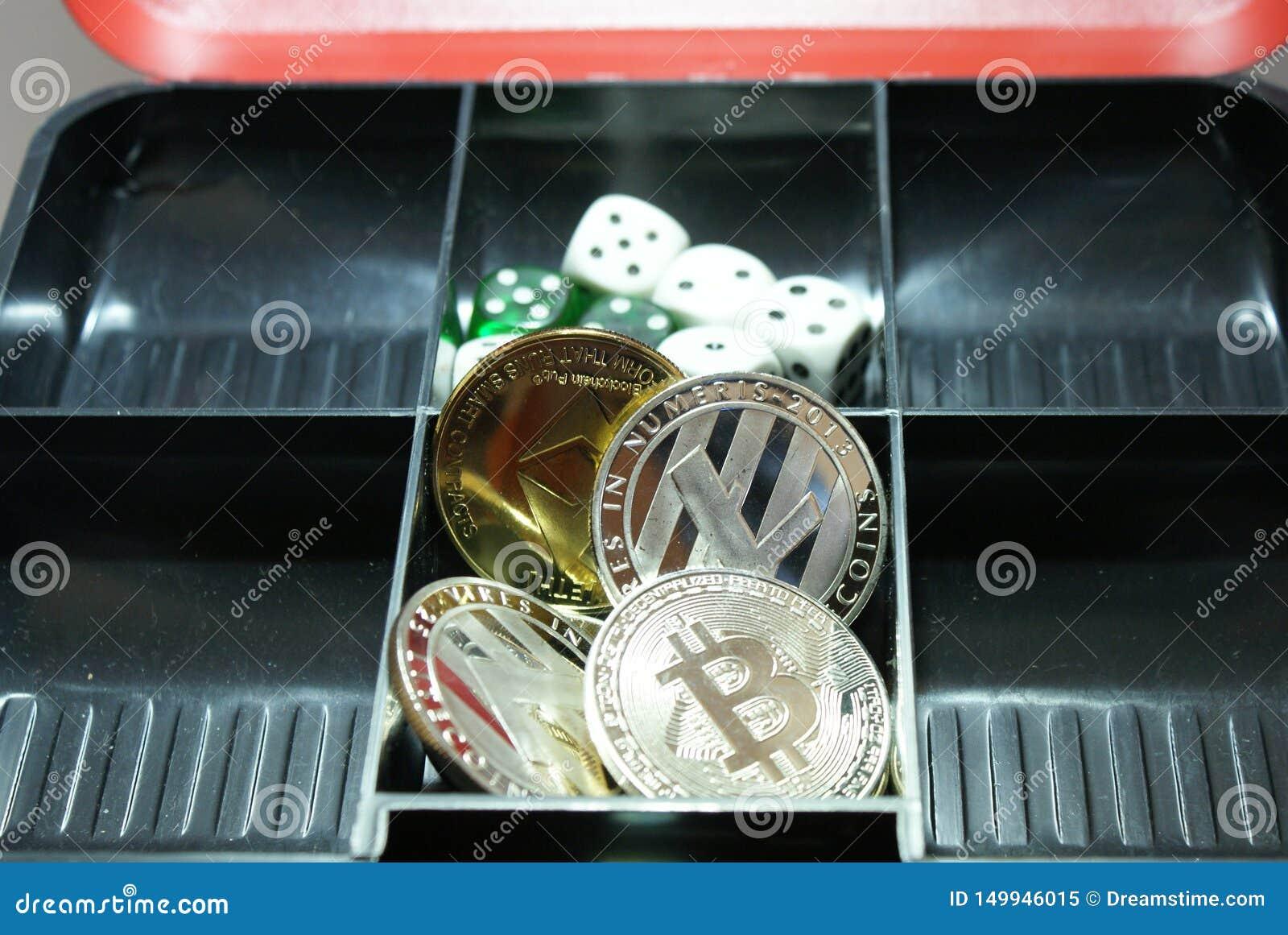 Kolekcja cryptocurrency w lockbox