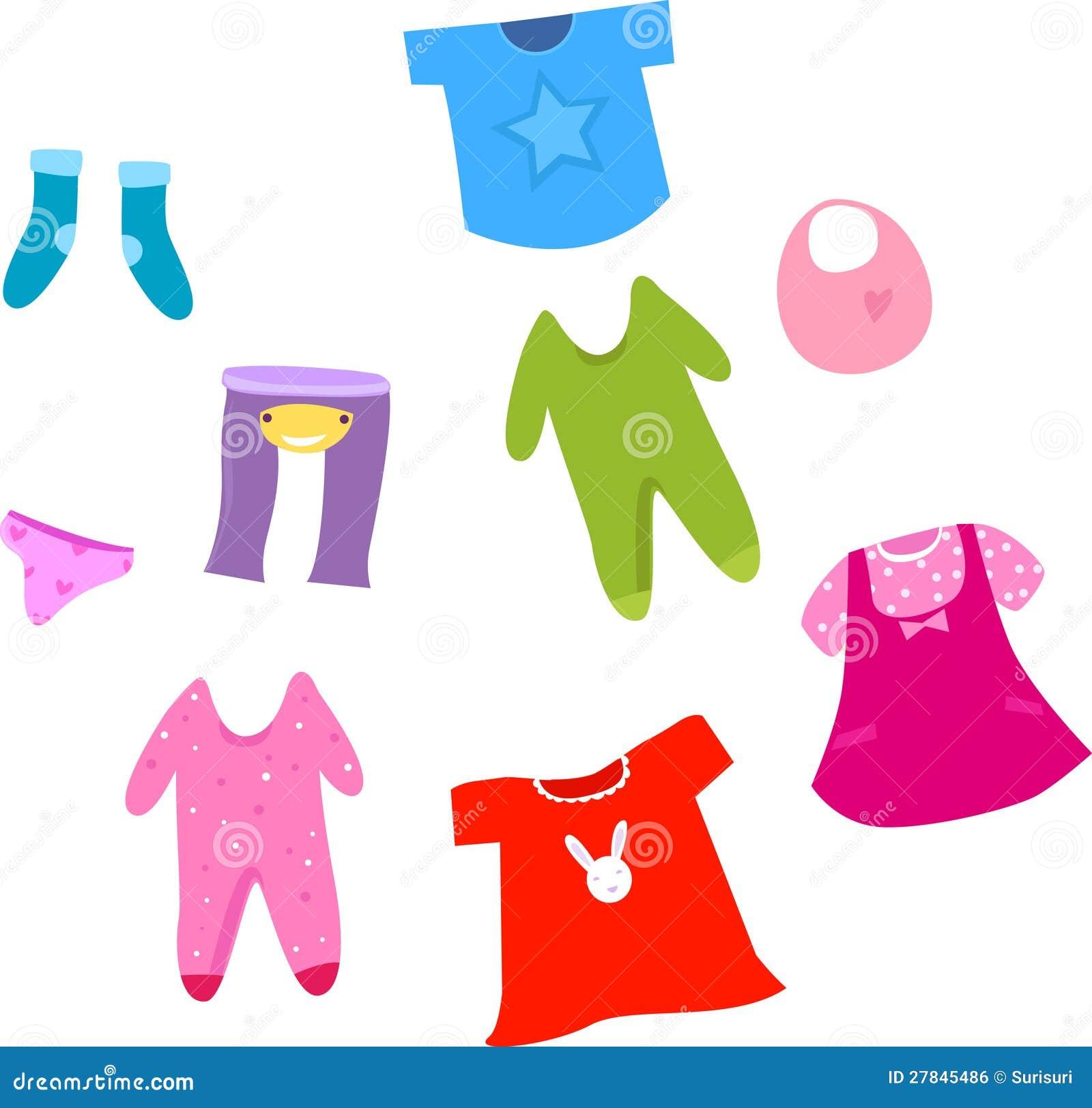 Kolekcja dziecka i dzieci odzieżowa kolekcja.