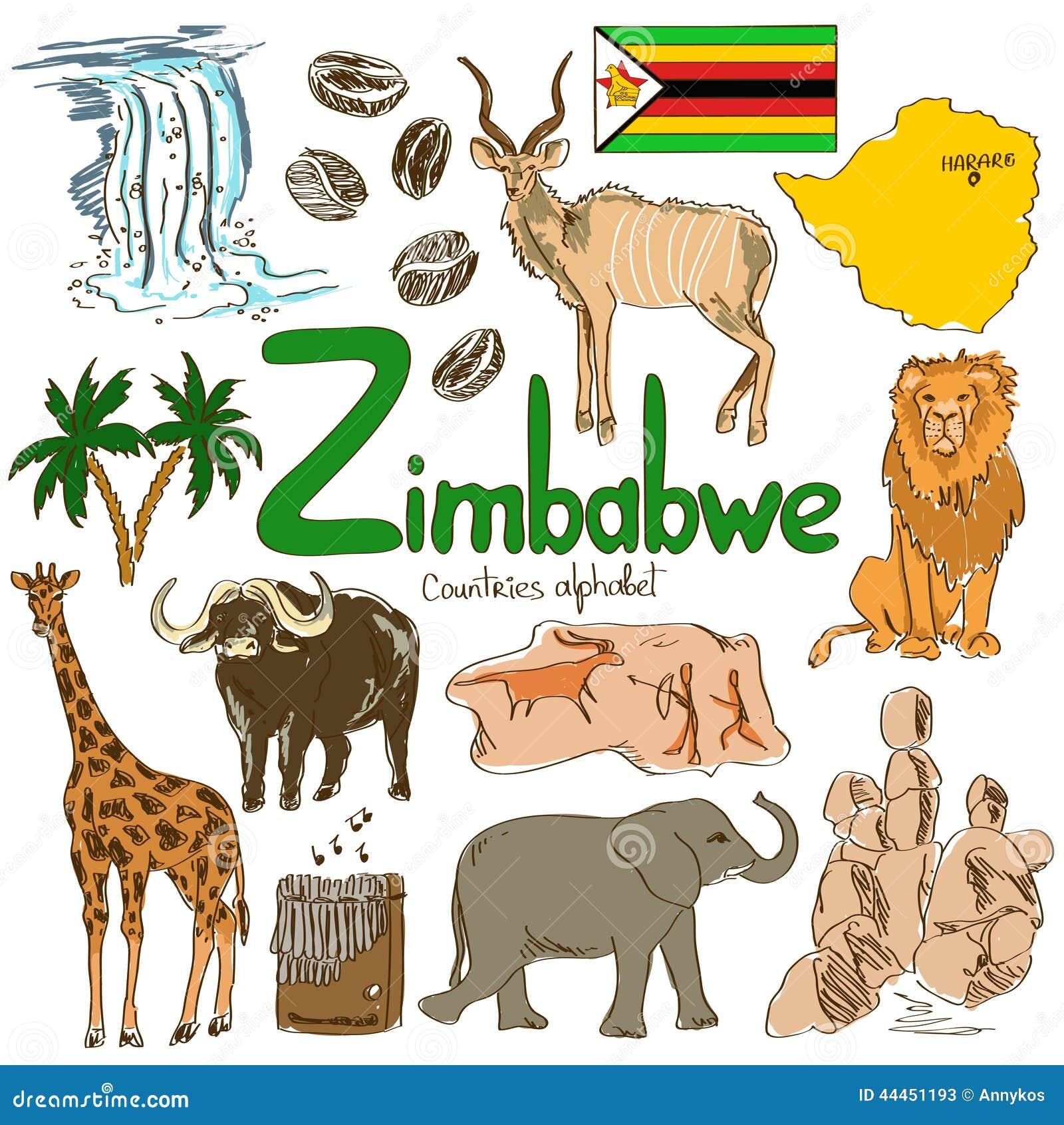 Kolekcja Zimbabwe ikony