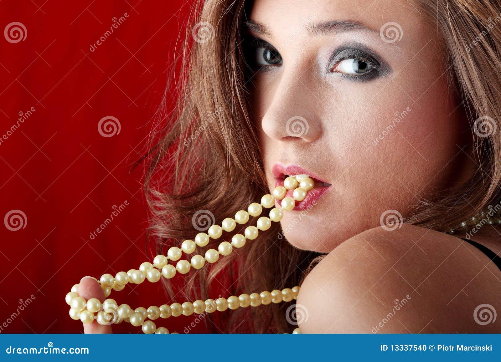 Kolii perełkowi seksowni kobiety potomstwa