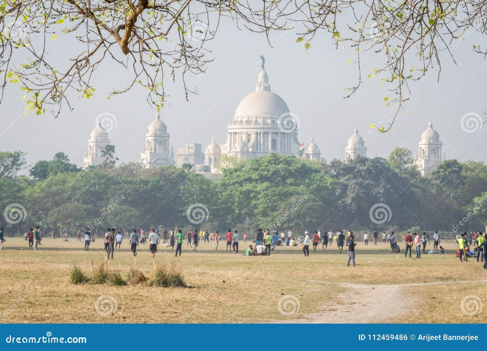 Kolkata majdan, Kolkata, Calcutta, Zachodni Bengalia, India
