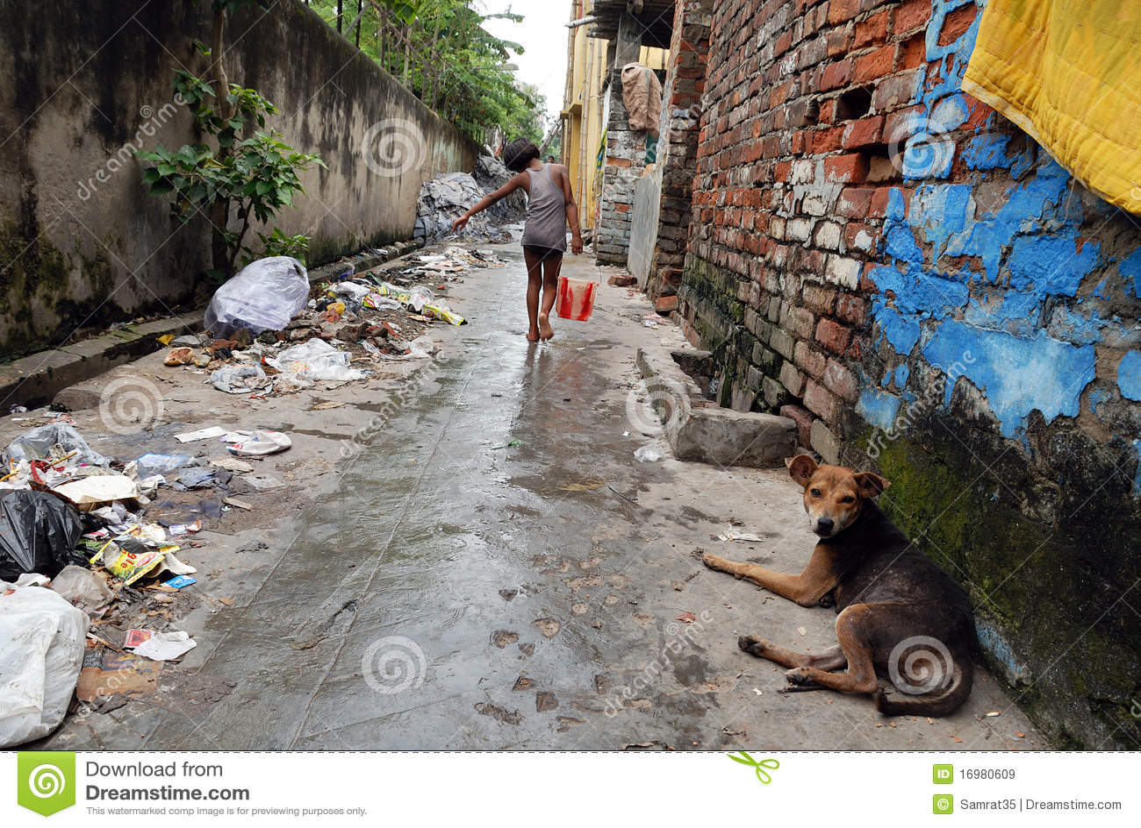 Slum Dwellers Of Kolkata-India Editorial Photo - Image of