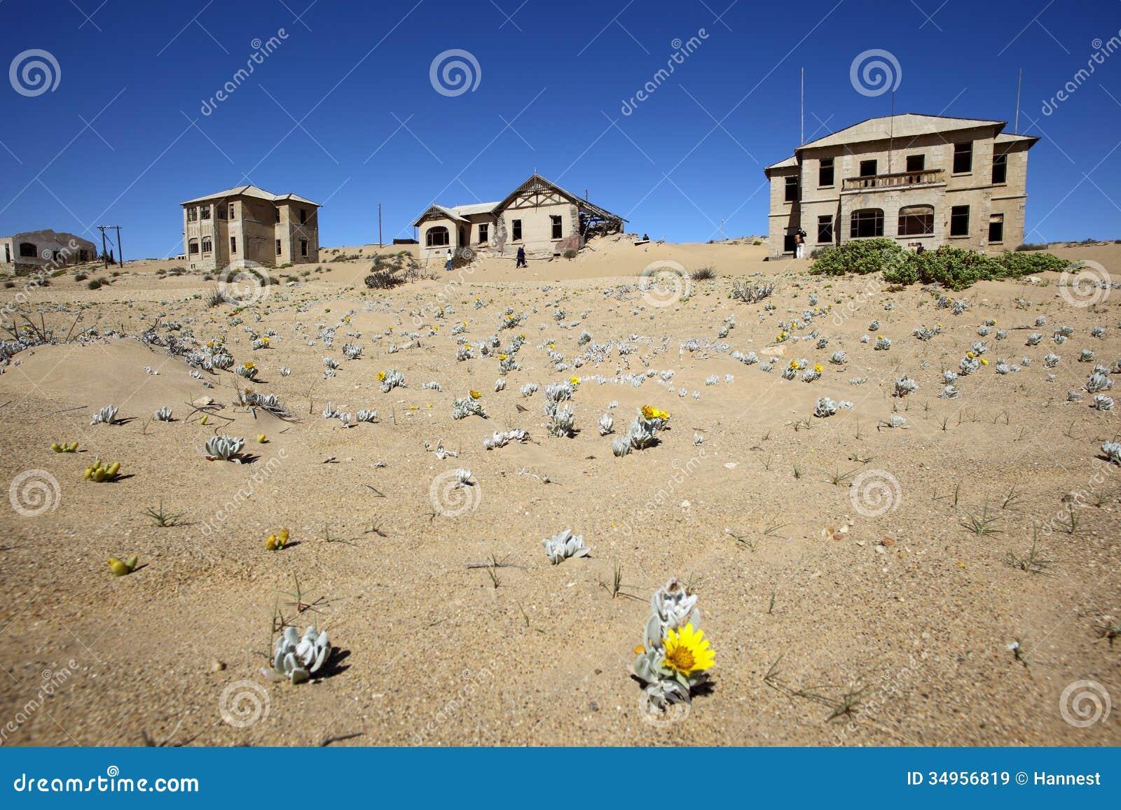 Kolmanskop Ghost Town stock image. Image of namib ...