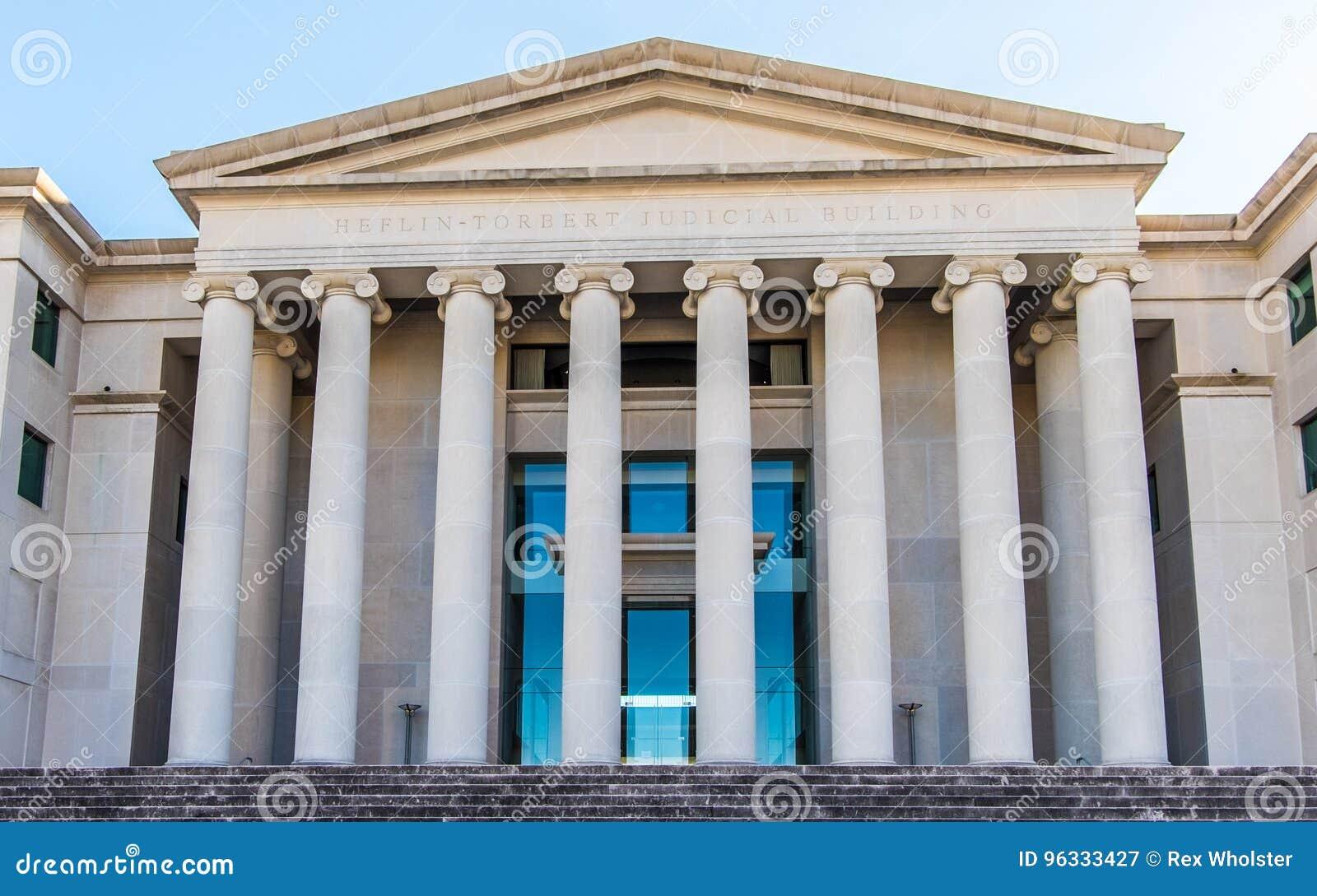 Kolommen van het Hooggerechtshof van Alabama