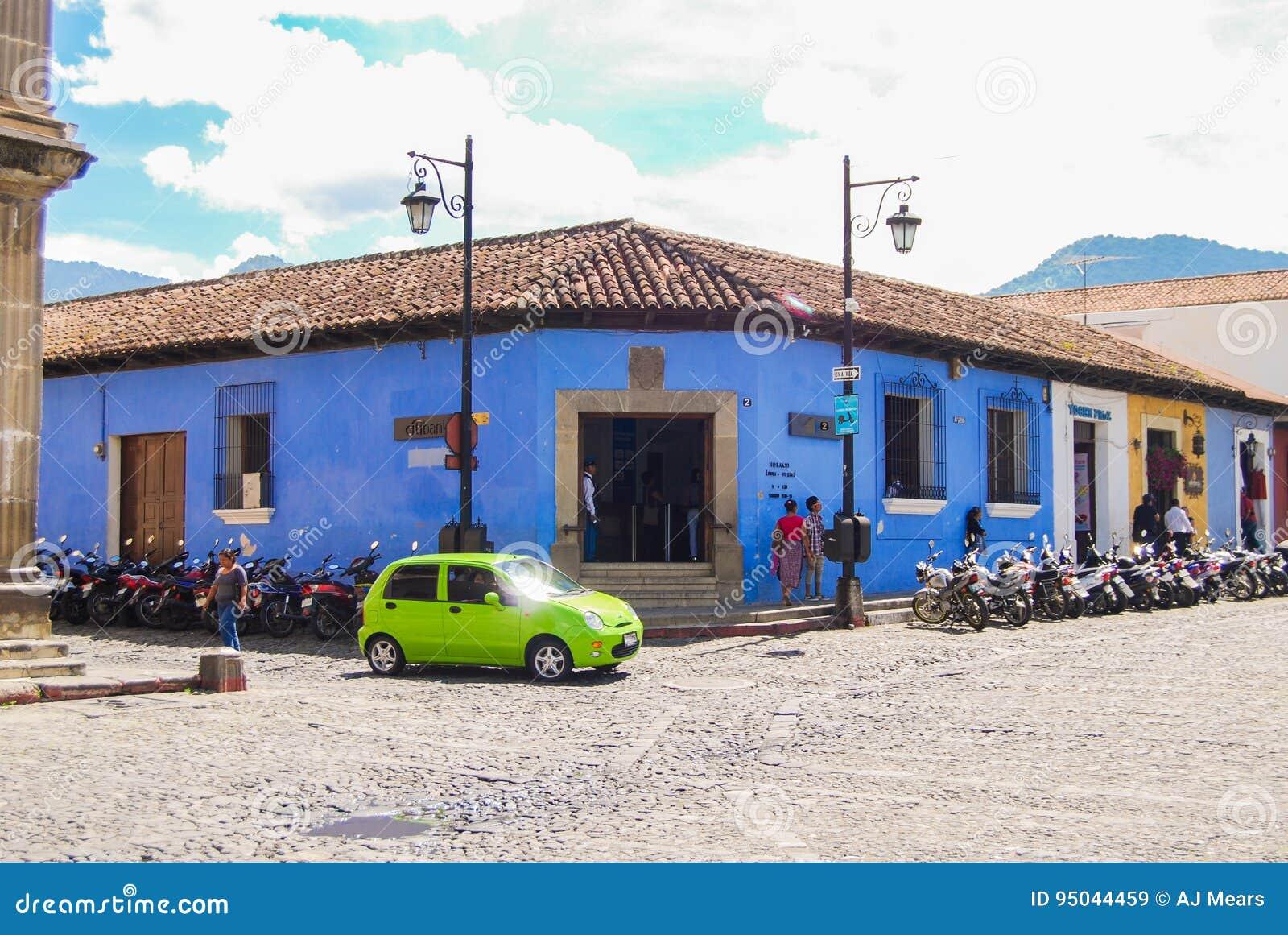 Koloniale Hoekantigua Guatemala