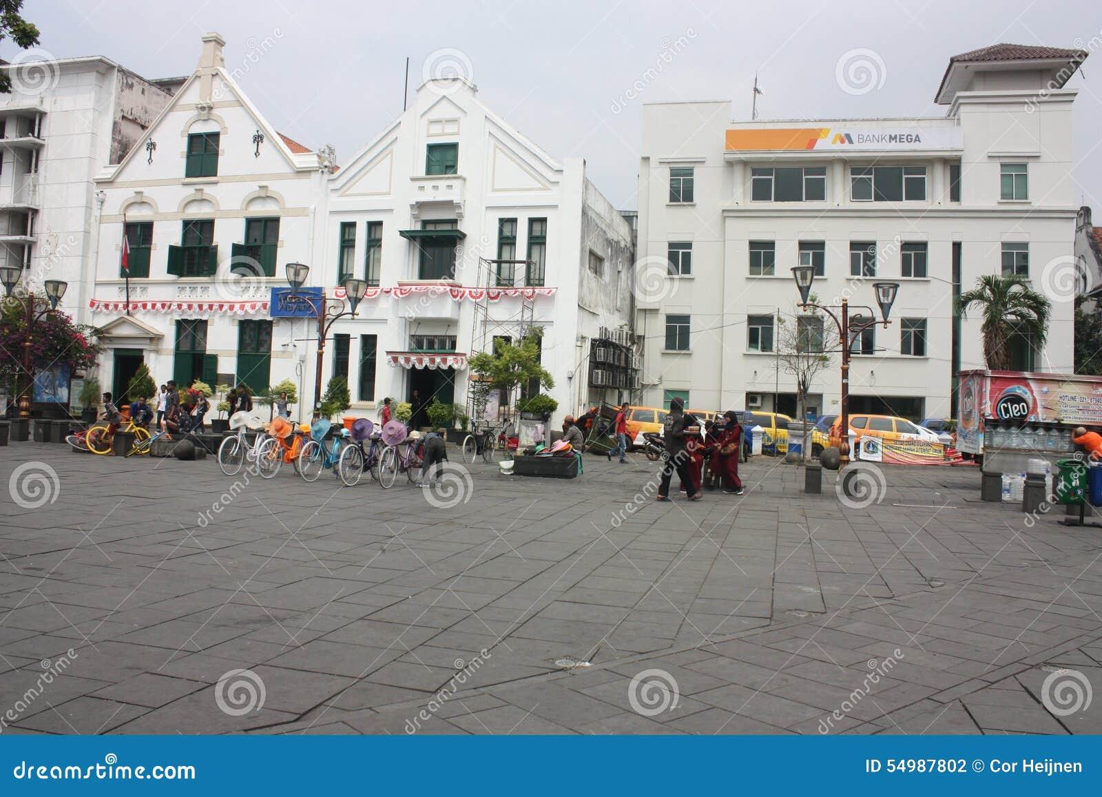 Koloniinvånare Batavia Stad