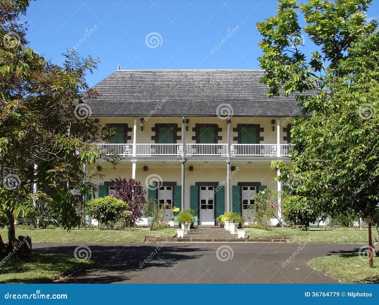 Kolonisty dom w Mauritius