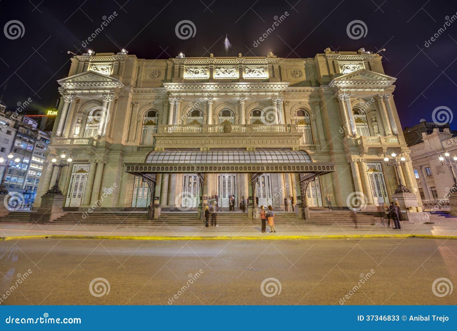 Kolonteater i Buenos Aires, Argentina.