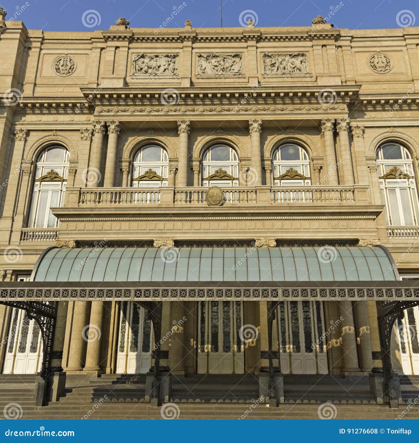 Kolonteater, operahuset av Buenos Aires, Argentina
