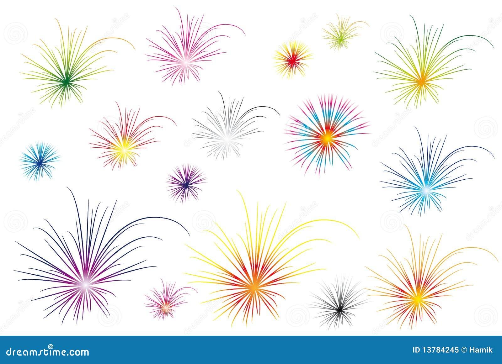 Kolorów fajerwerki