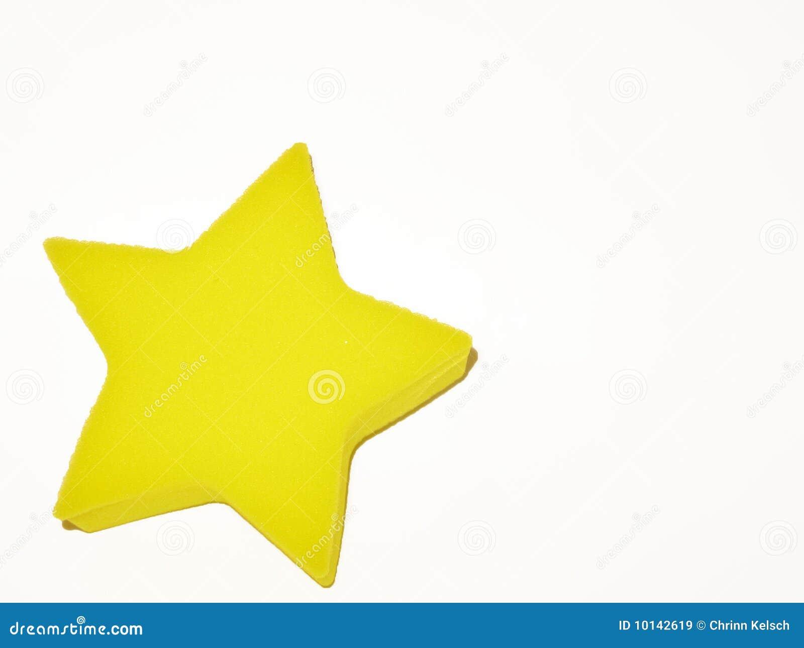 Kolor żółty gwiazda