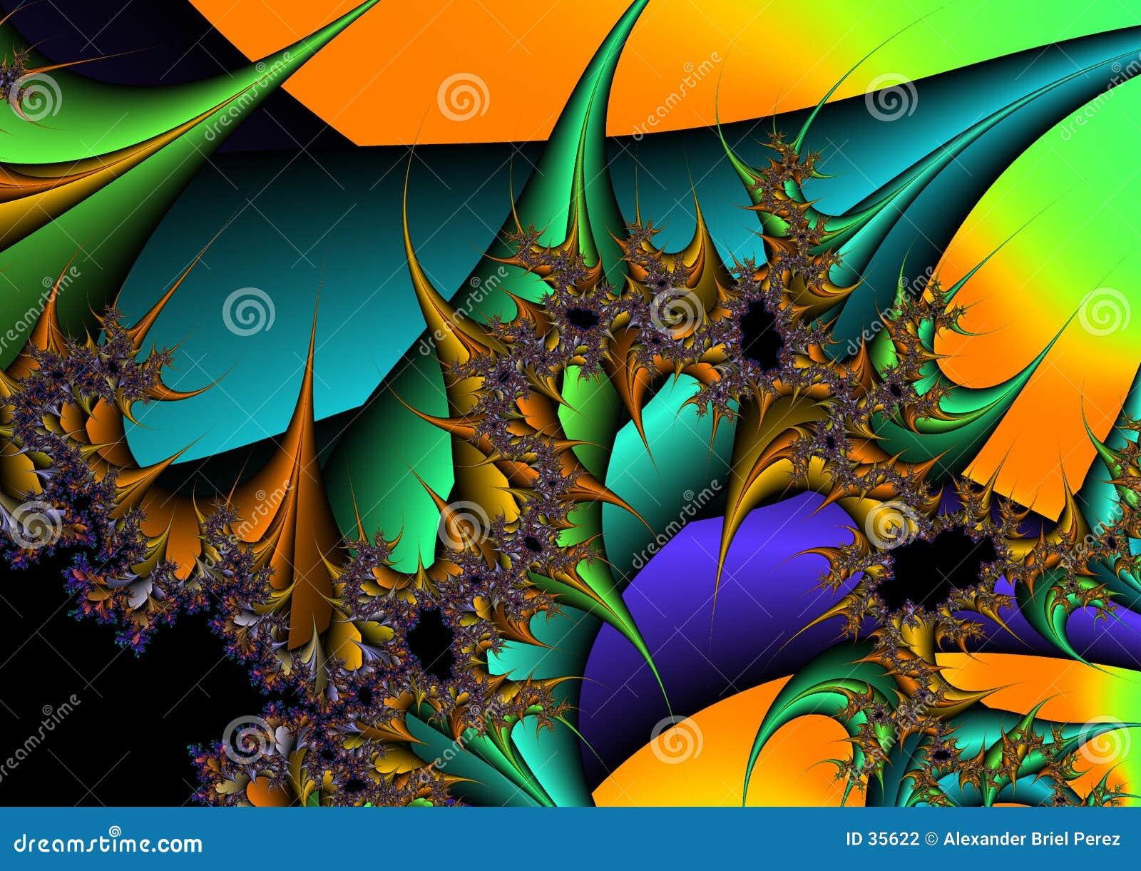 Download Kolor ilustracji. Ilustracja złożonej z tęcza, kolor, wally - 35622