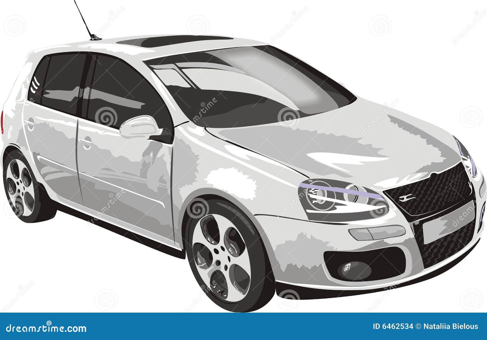 Kolor biały samochód