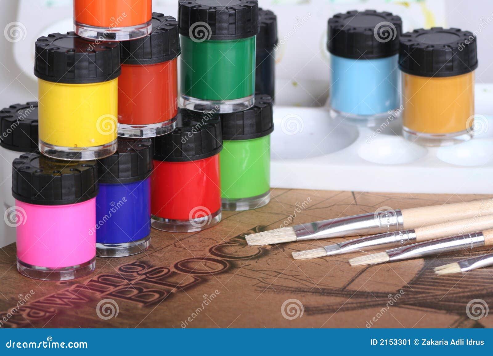 Kolor maluje urządzeń wodę
