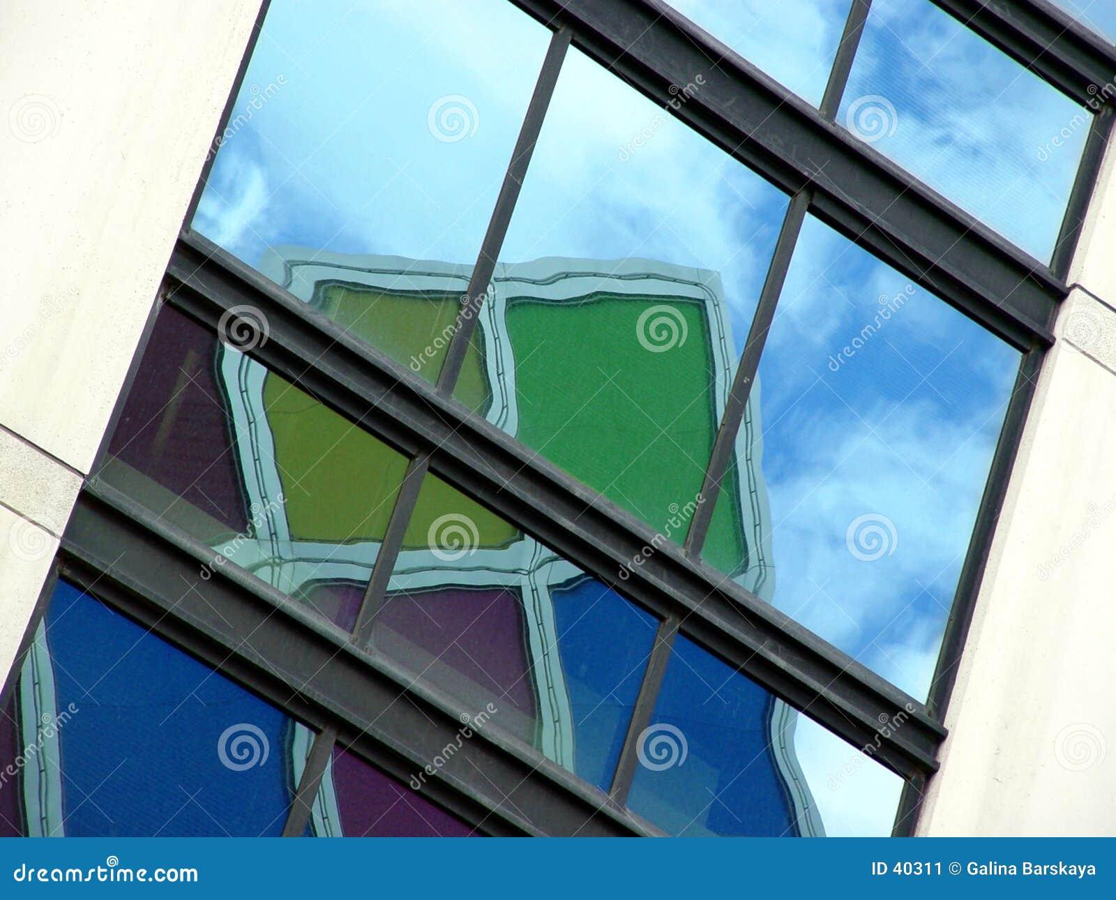 Download Kolor odbicia obraz stock. Obraz złożonej z colours, odbijający - 40311