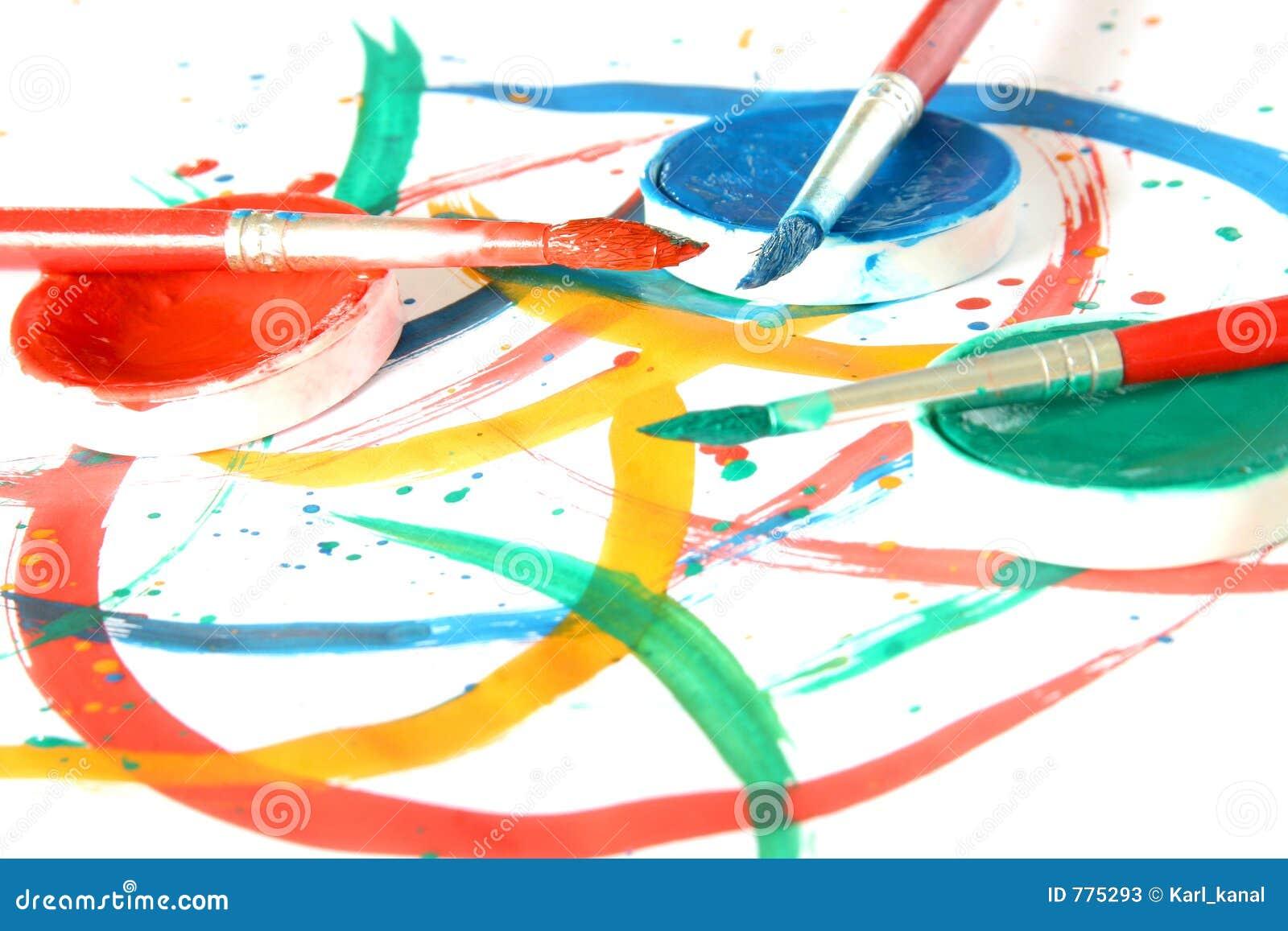 Kolor szczotkarski kreatywnym