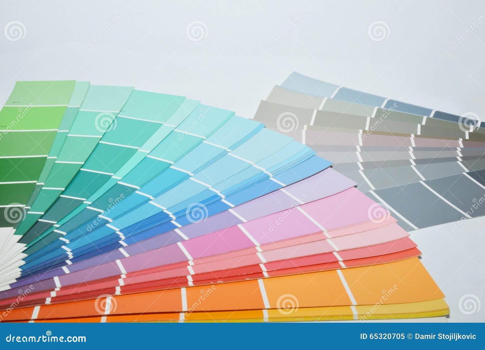 Kolor tła abstrakcyjna projektu paleta