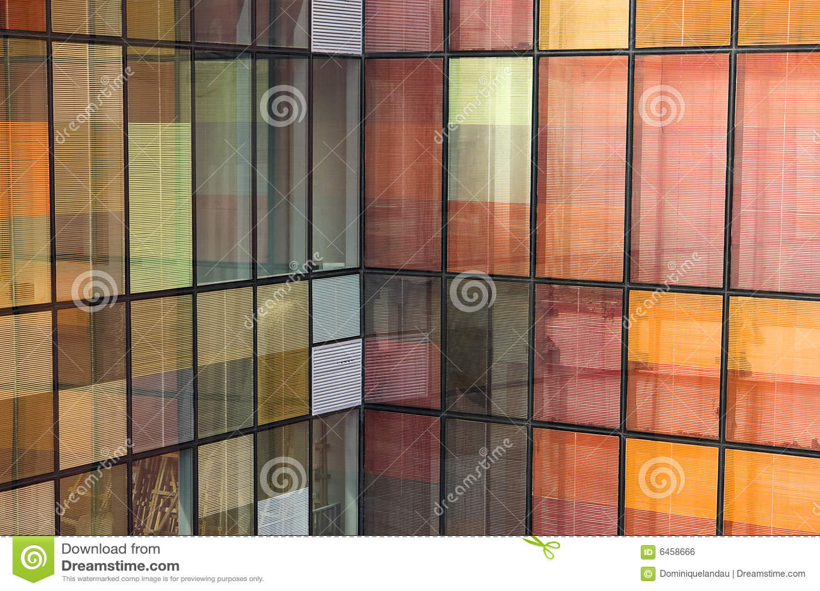 Kolor tła odbicie okna