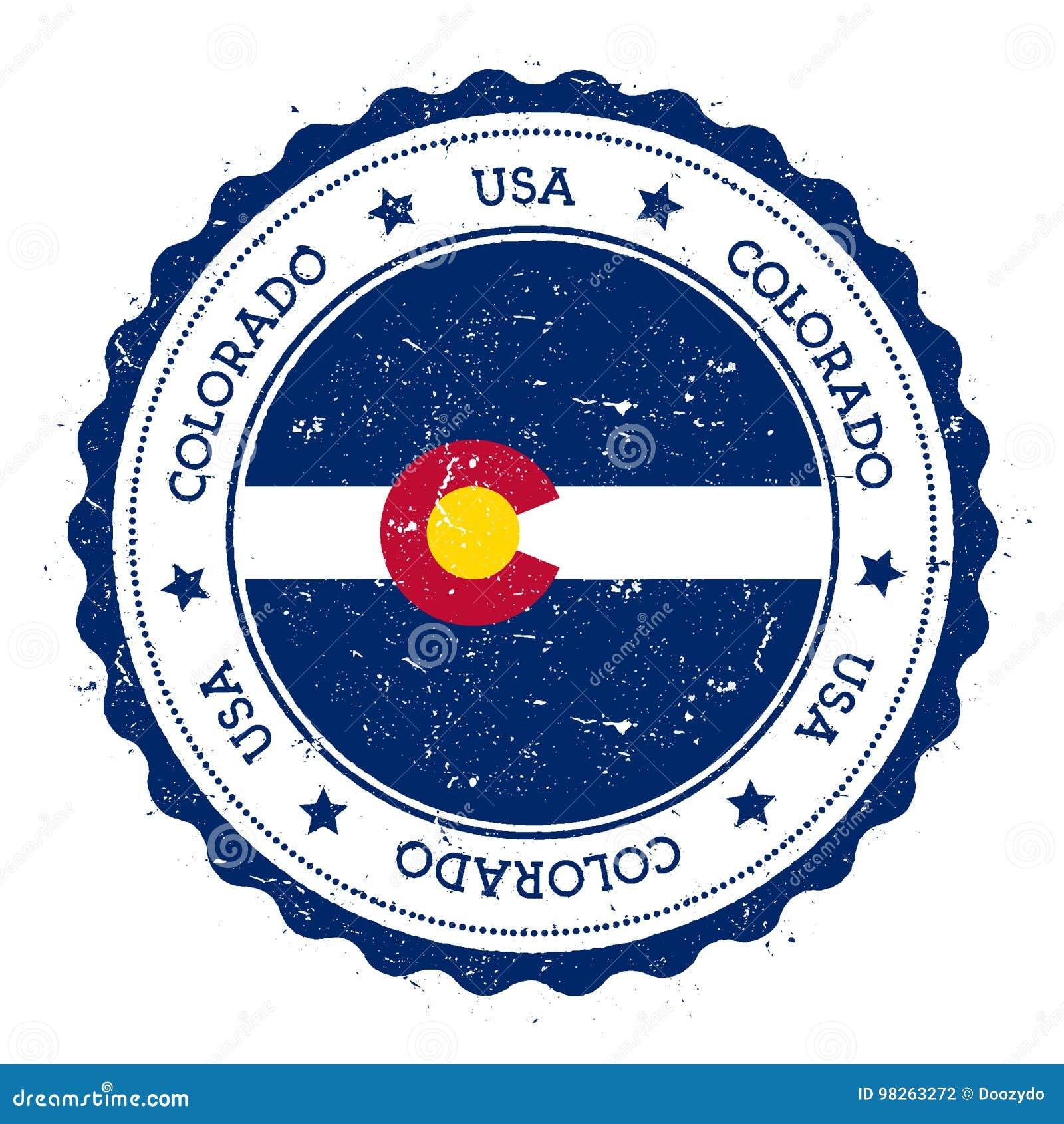 Kolorado flaga odznaka