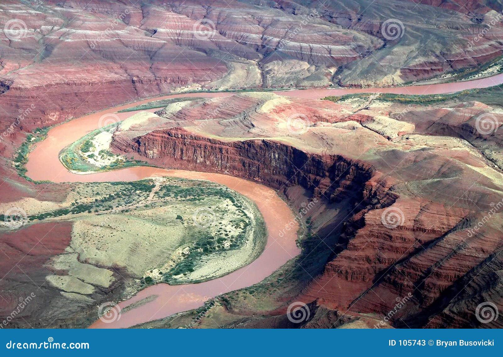 Kolorado-Fluss-Antenne