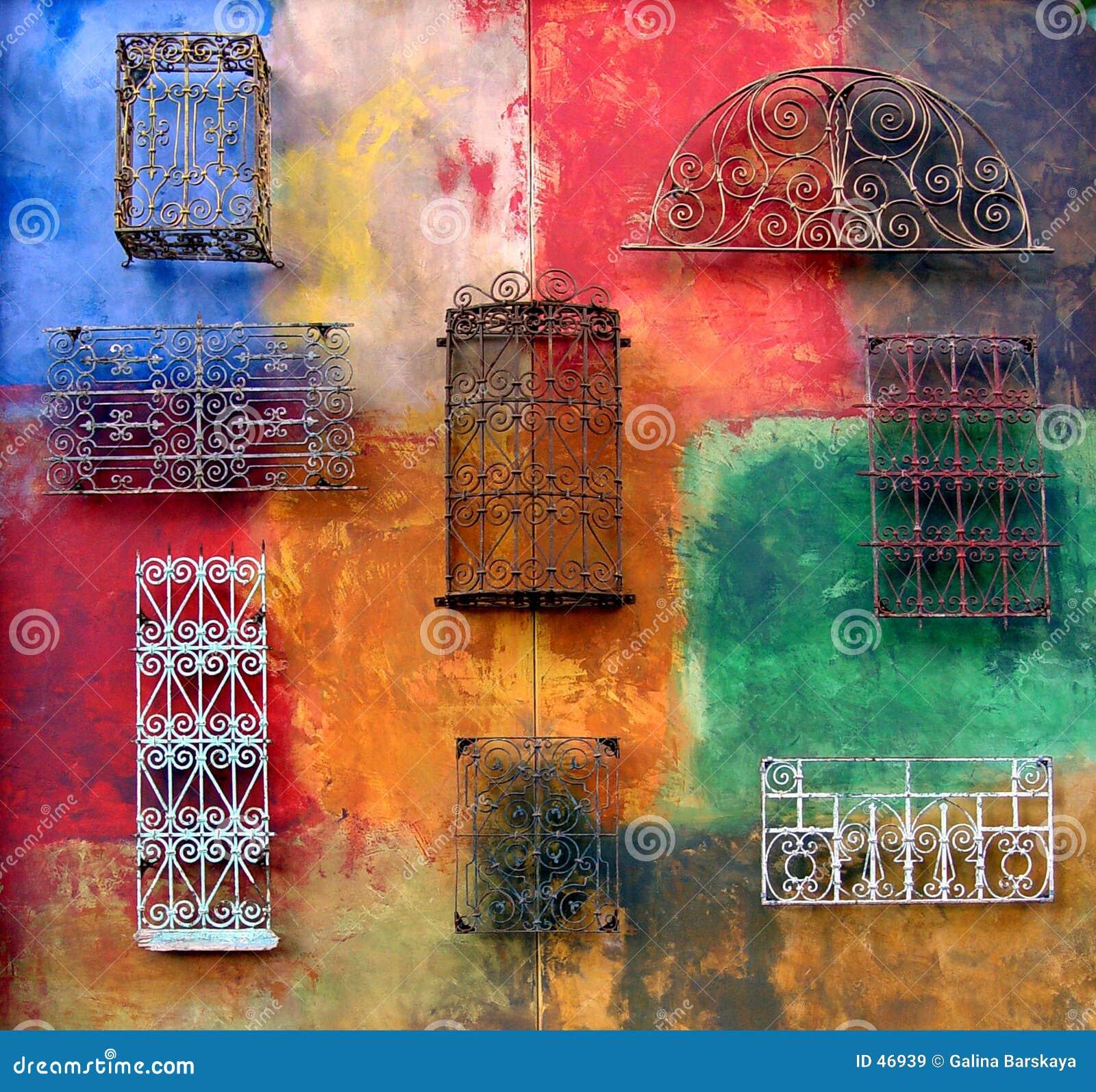 Kolorowa ściany