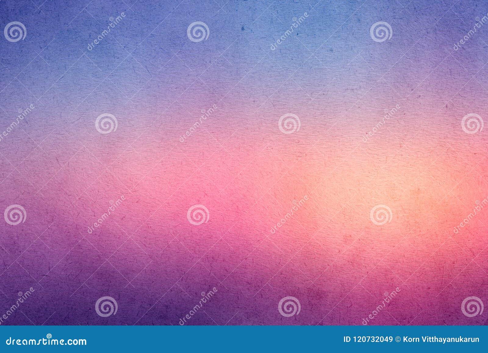 Kolorowa gradientowa akwareli farba na starym papierze z zbożowego smudge brudną teksturą