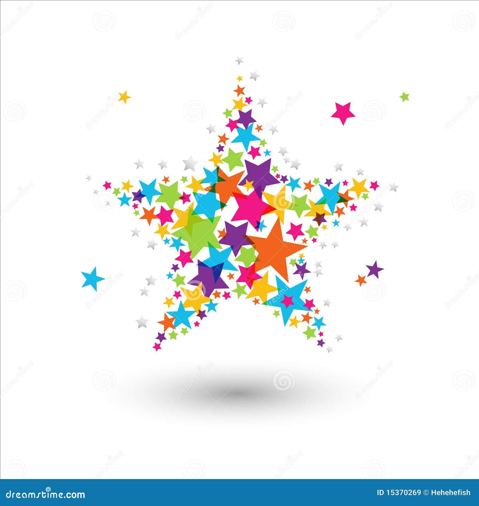 Kolorowa gwiazda