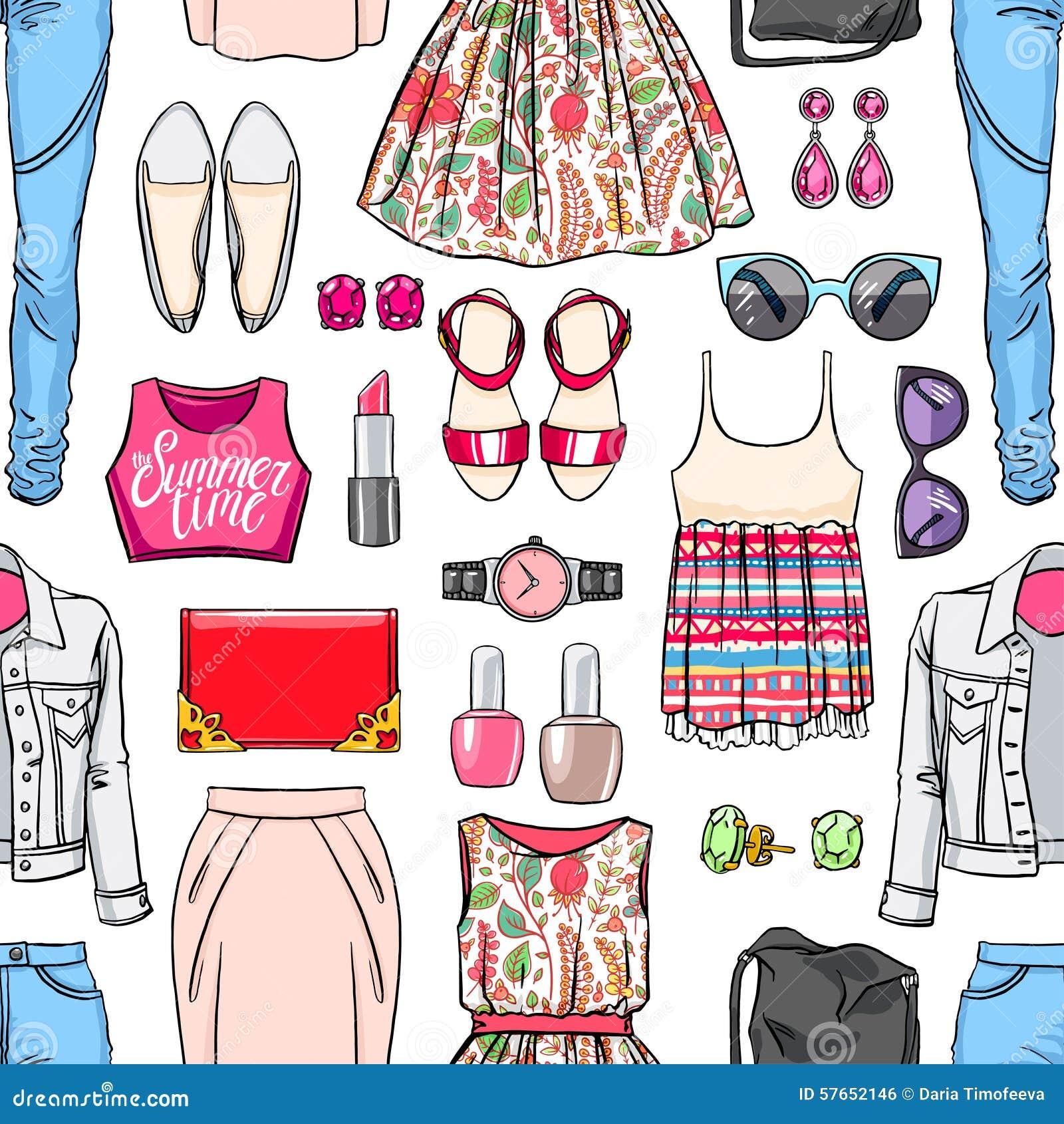 Kolorowa kobiety lata odzież