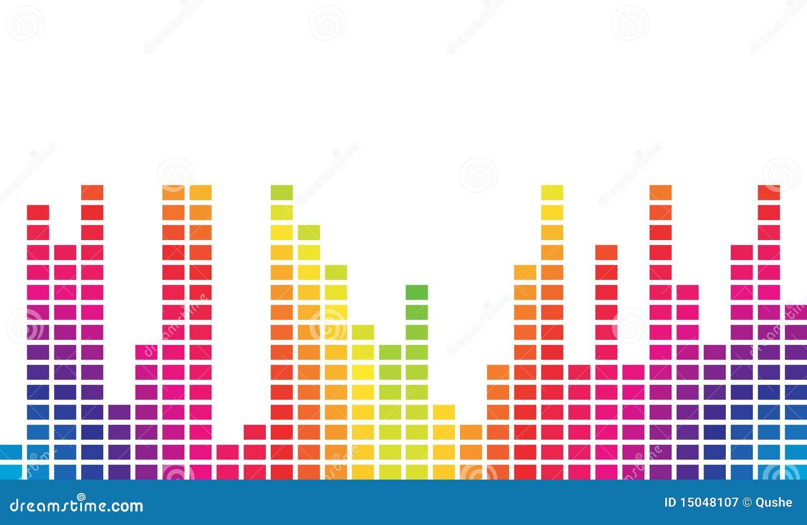 Kolorowa muzyczna pojemność