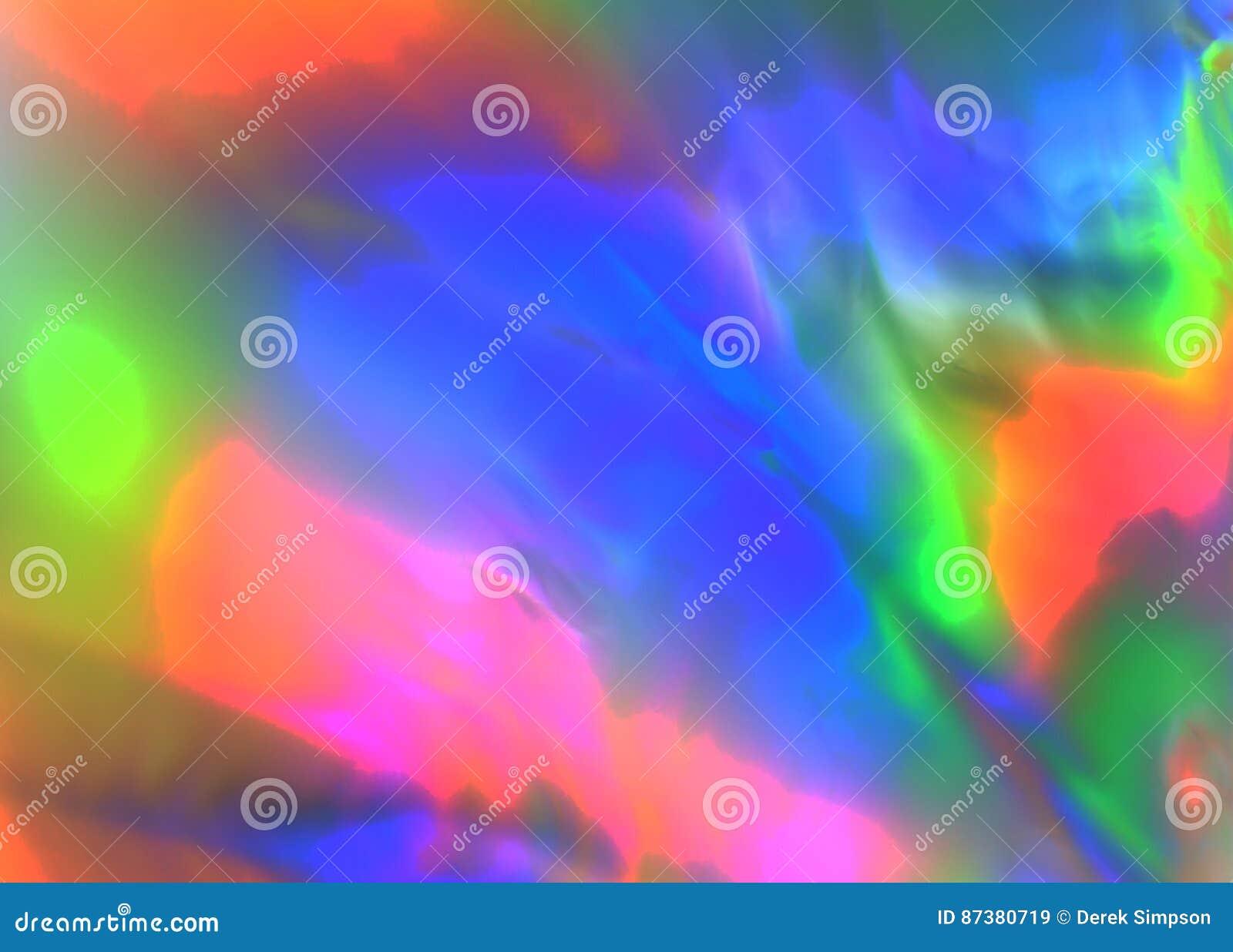 Kolorowa psychodeliczna abstrakcjonistyczna seansu stresu dystrybucja w klingerycie