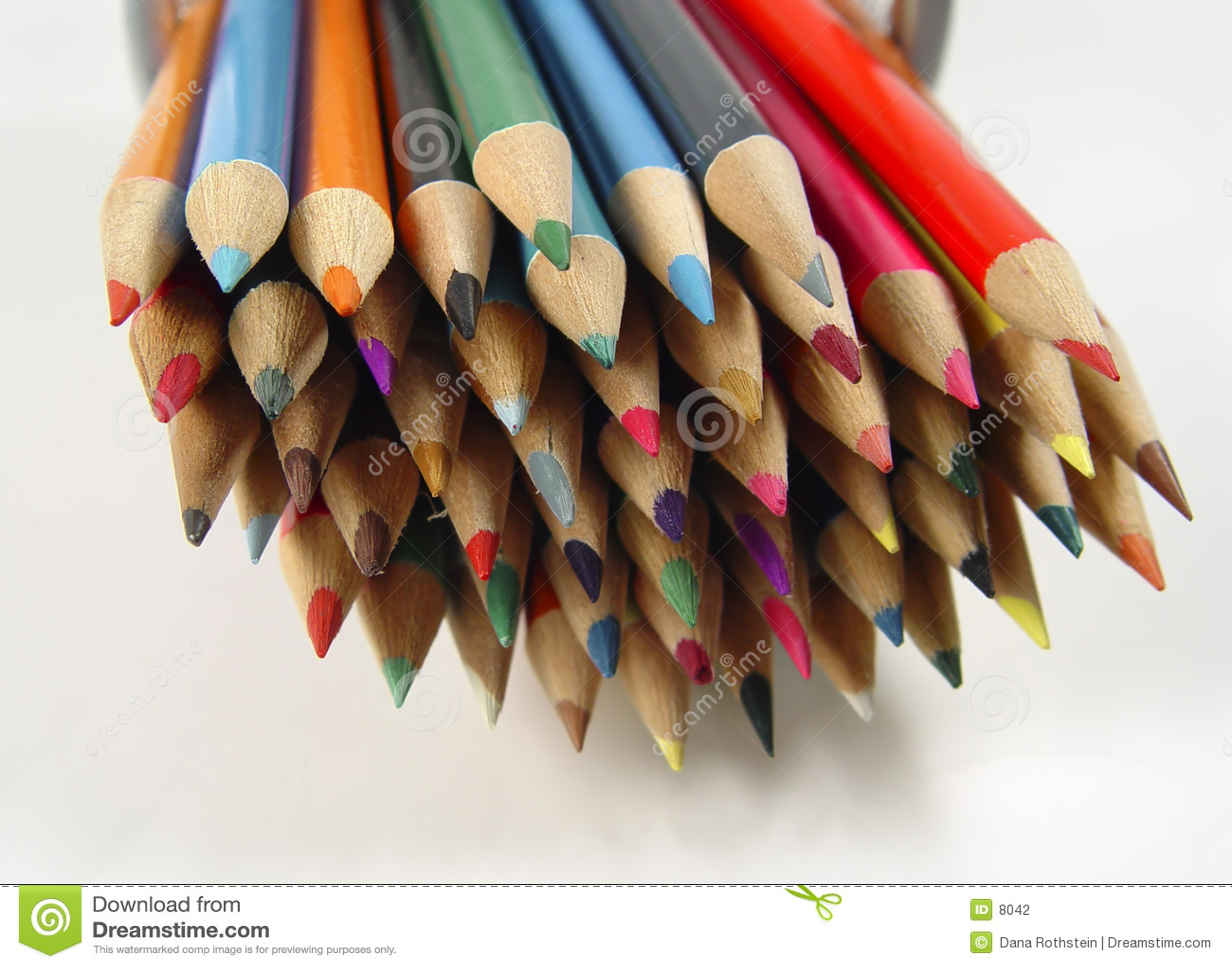 Kolorowe 7 ołówków