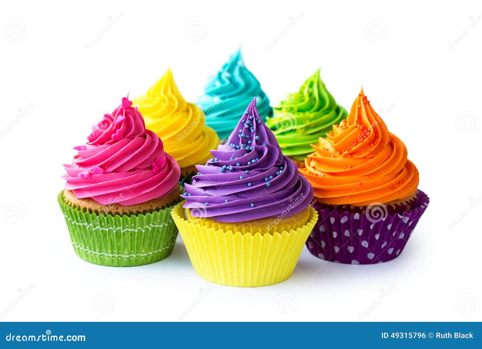 Kolorowe bułeczki