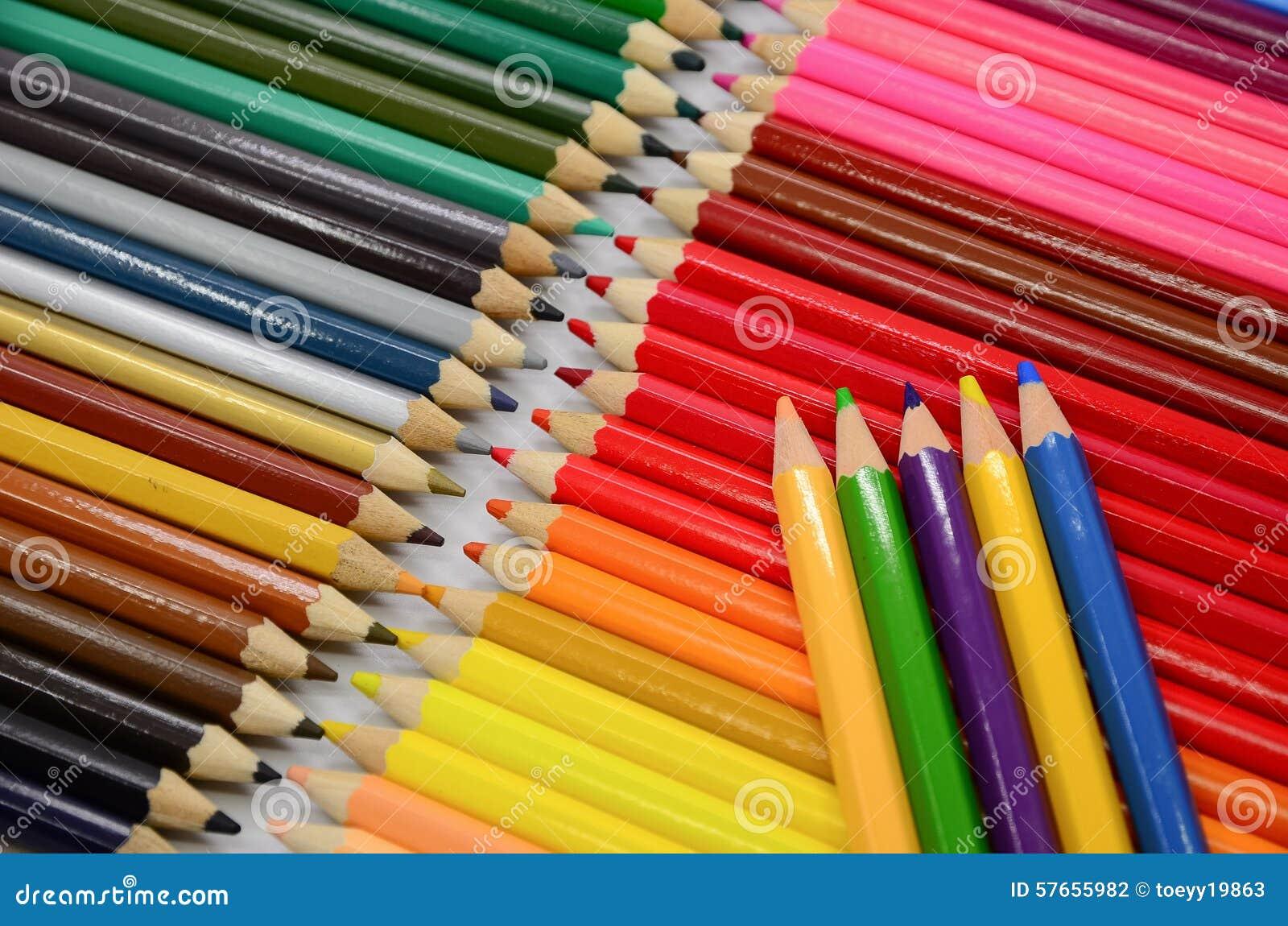 Kolorowe ołówki