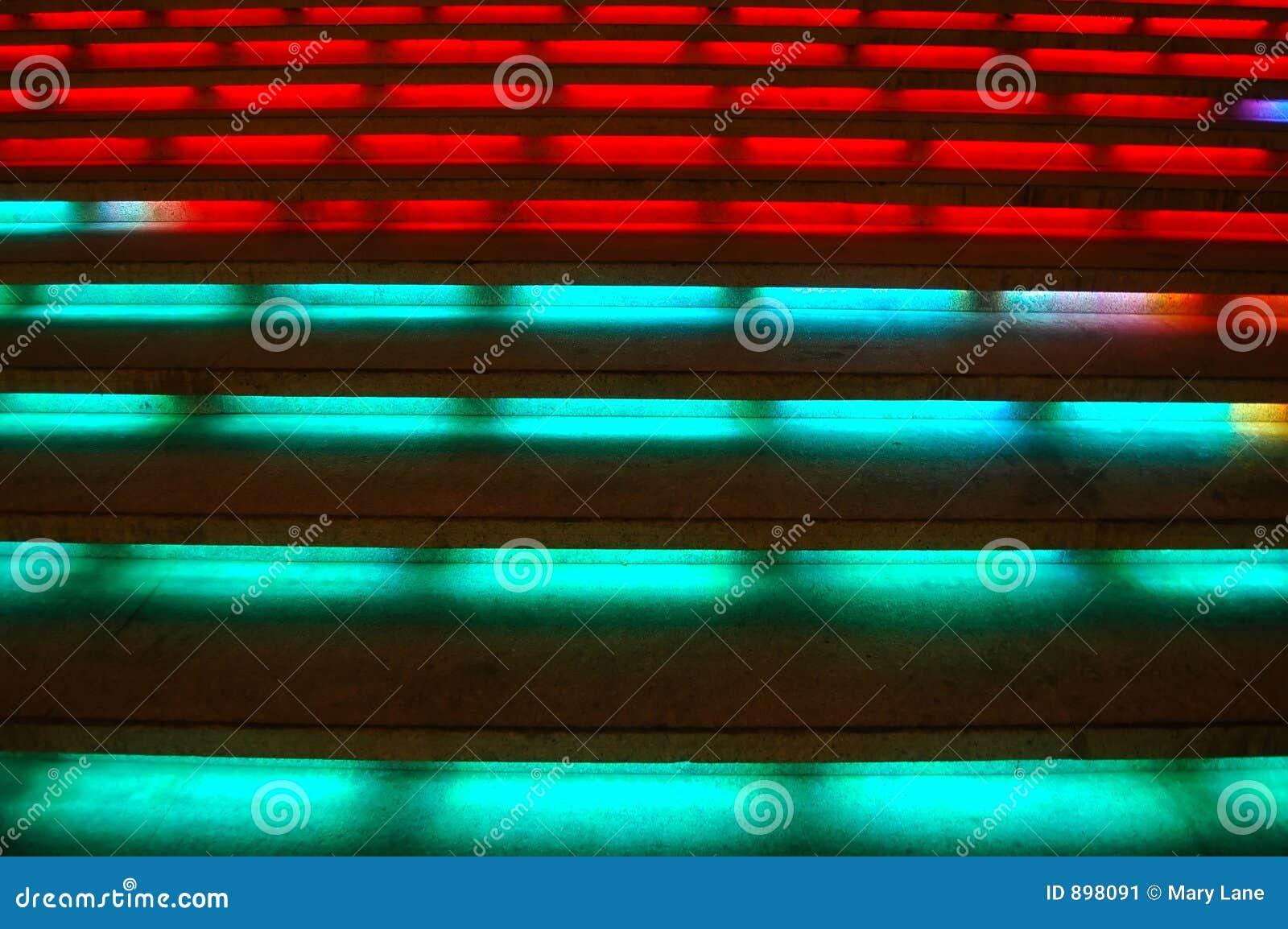 Kolorowe wielo- kroków