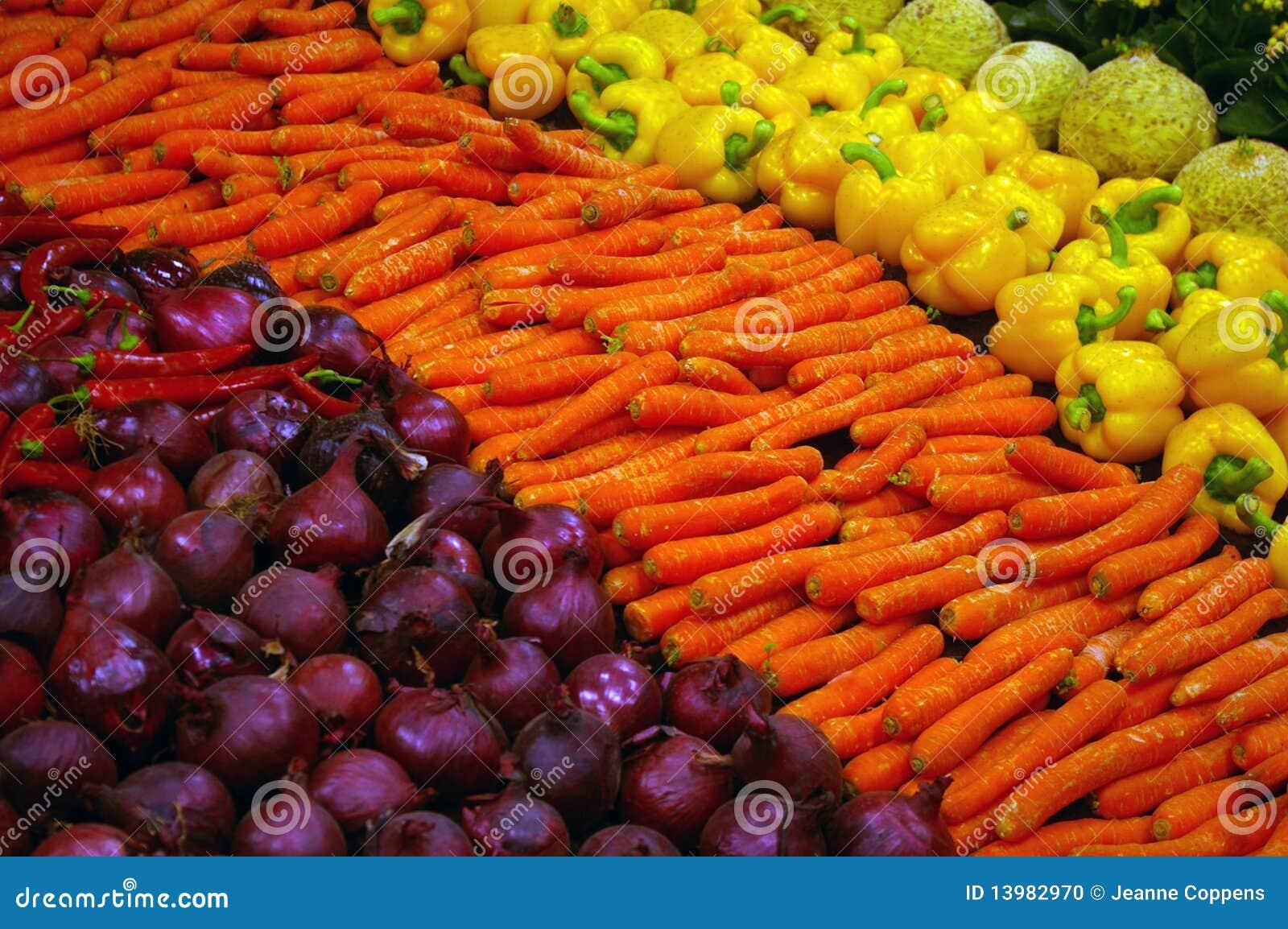 Kolorowi świezi warzywa