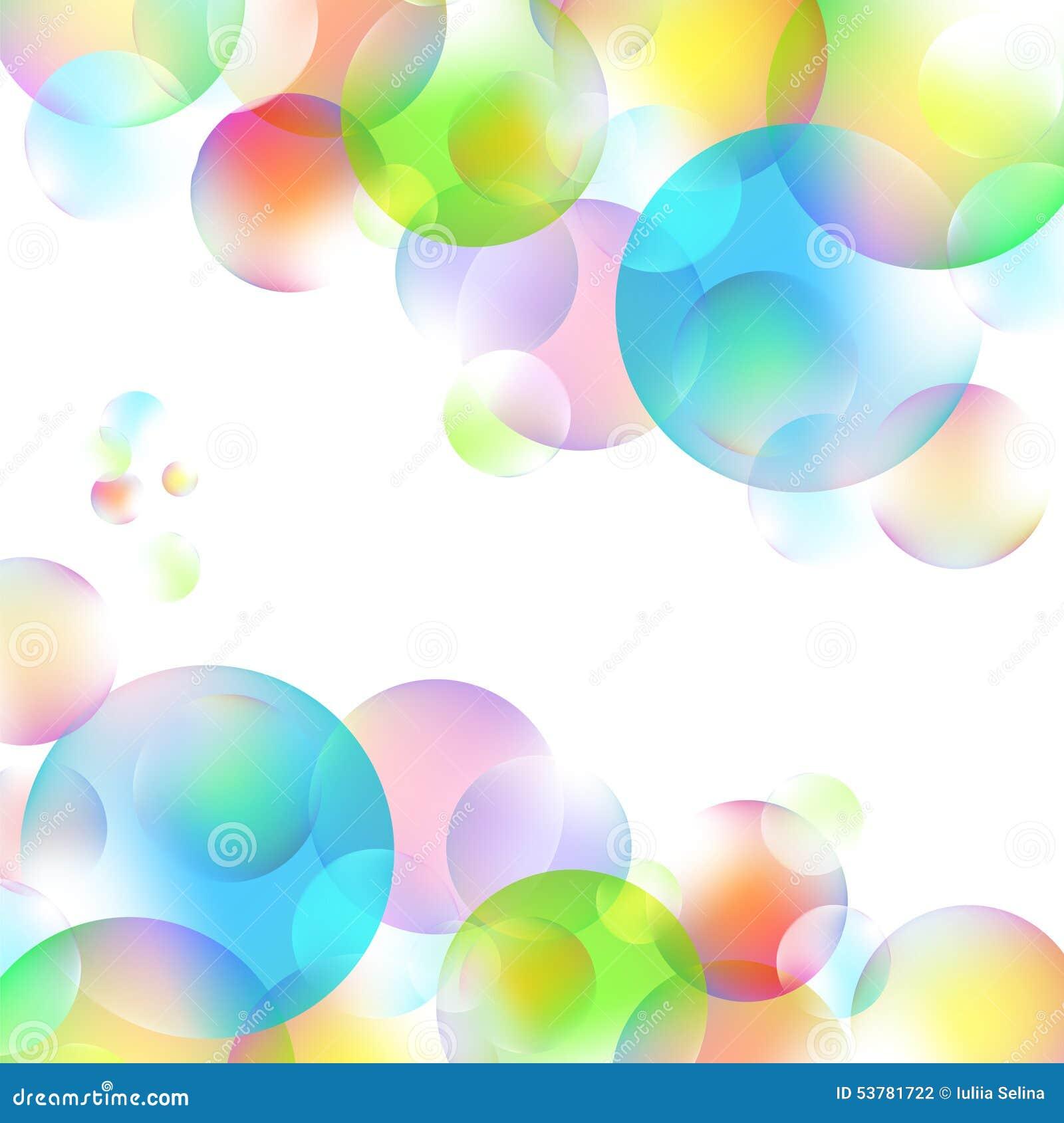 Kolorowi bąble
