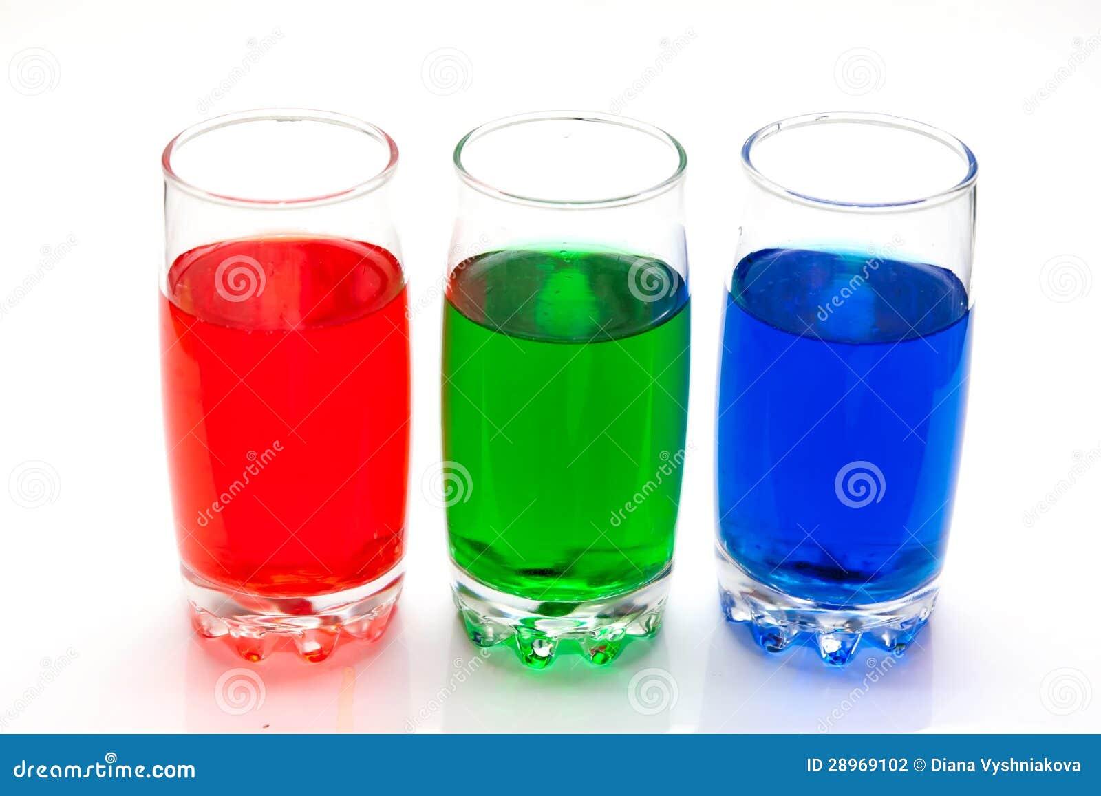 Kolorowi ciecze