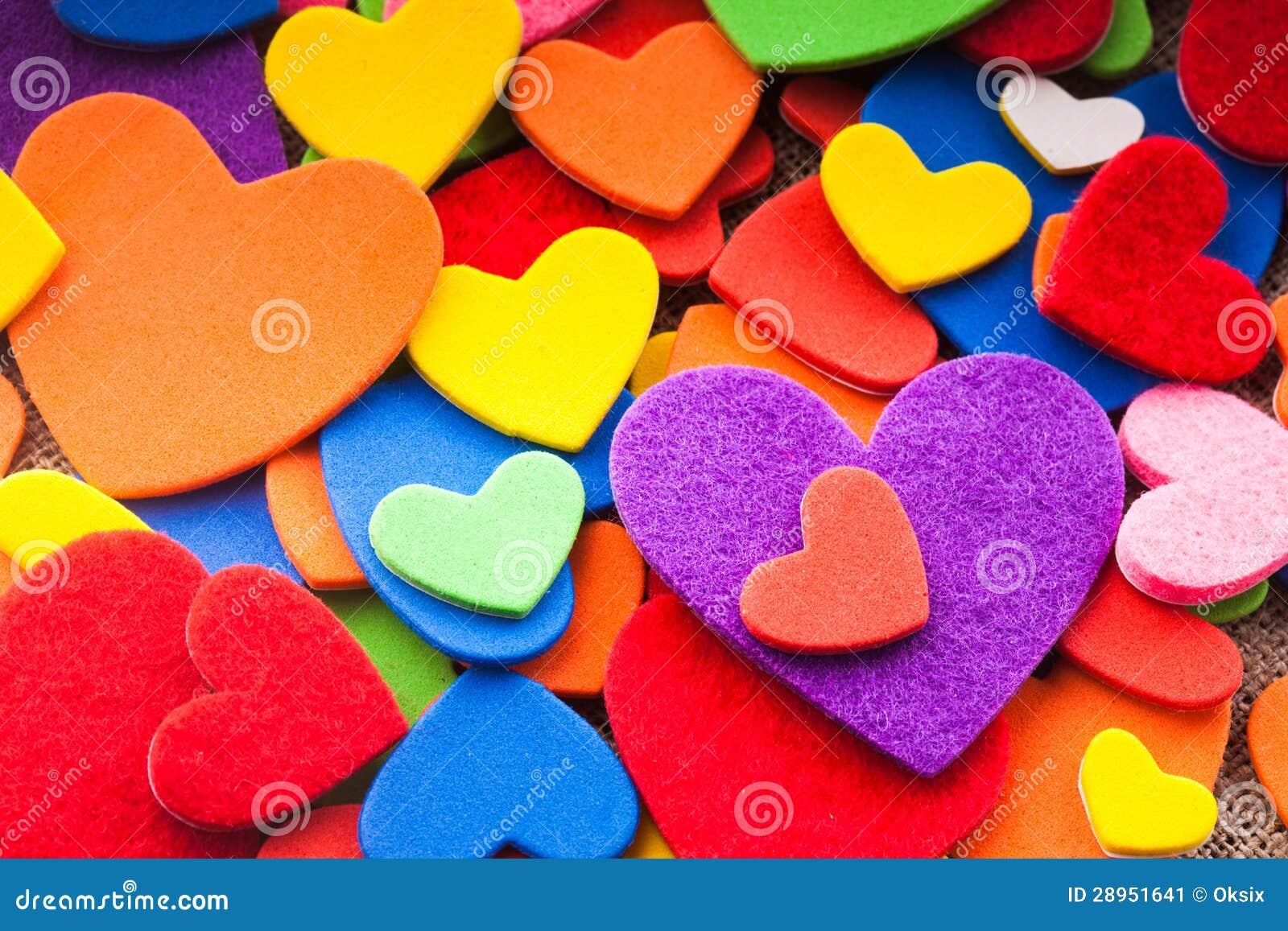 Kolorowi serca