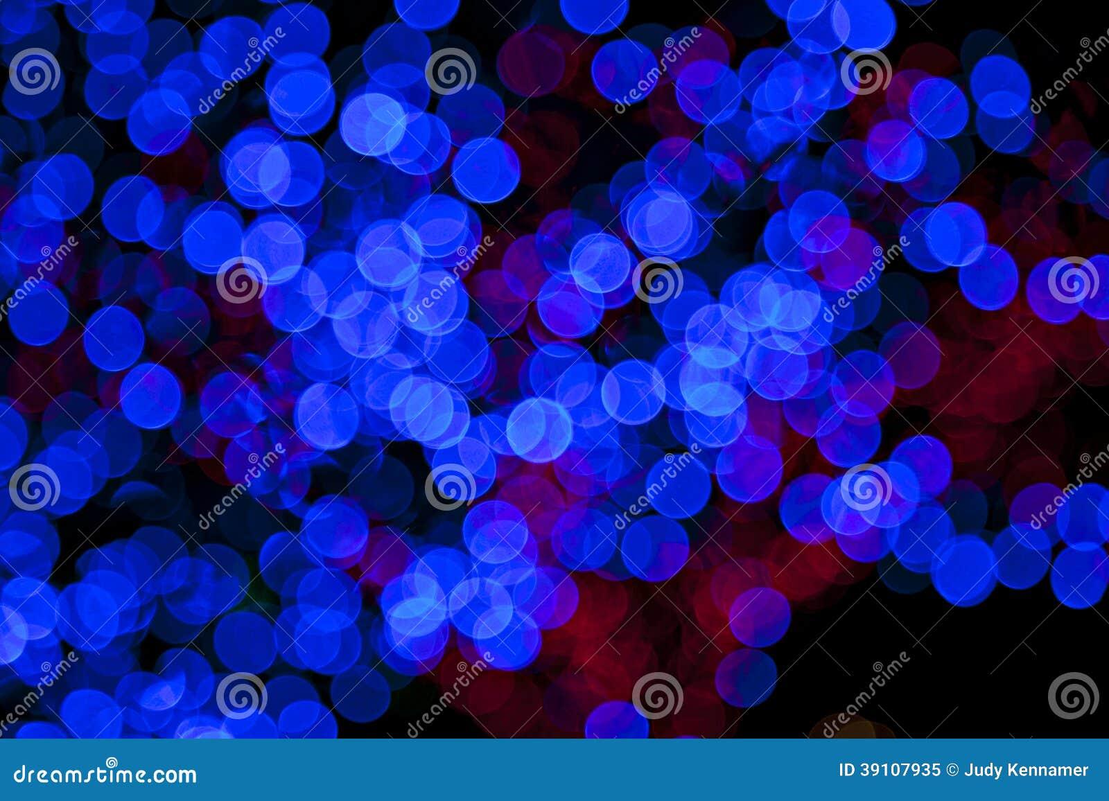 Kolorowi zamazani bokeh światła