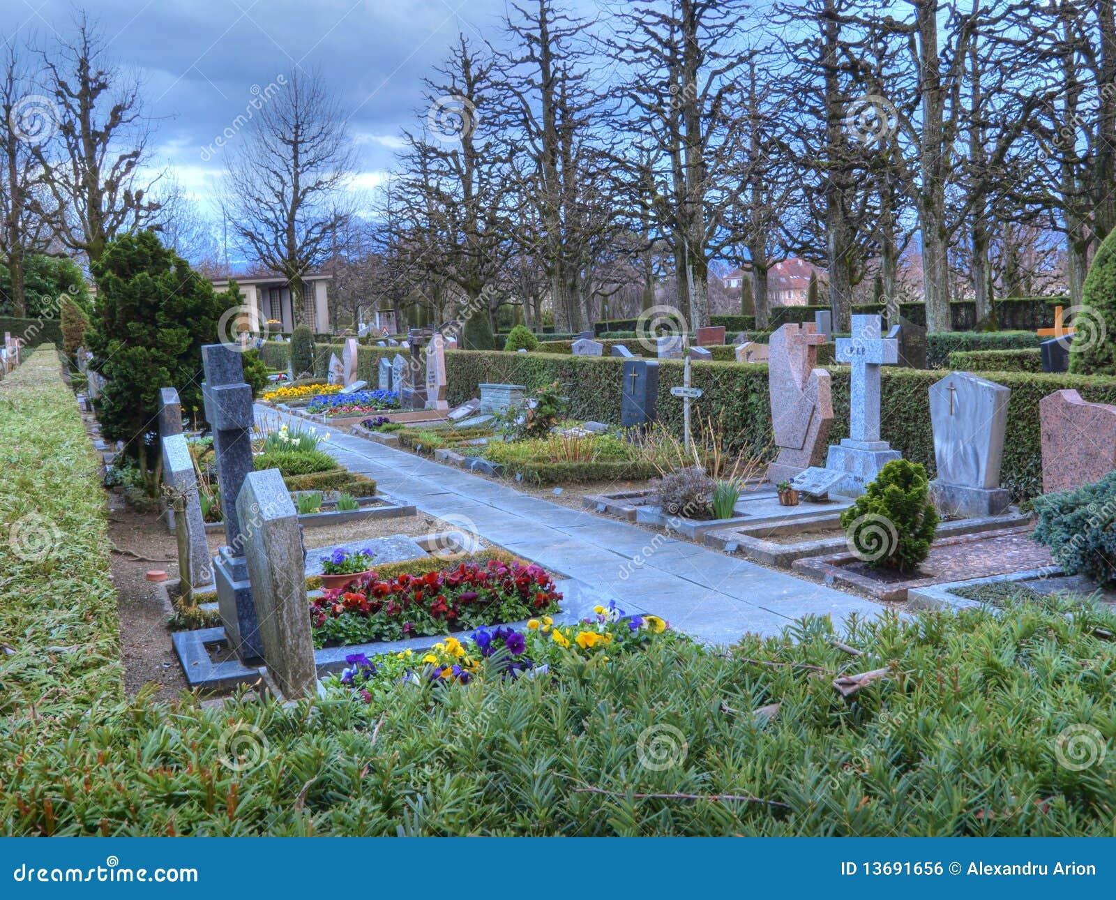 Kolorowy boski cmentarz