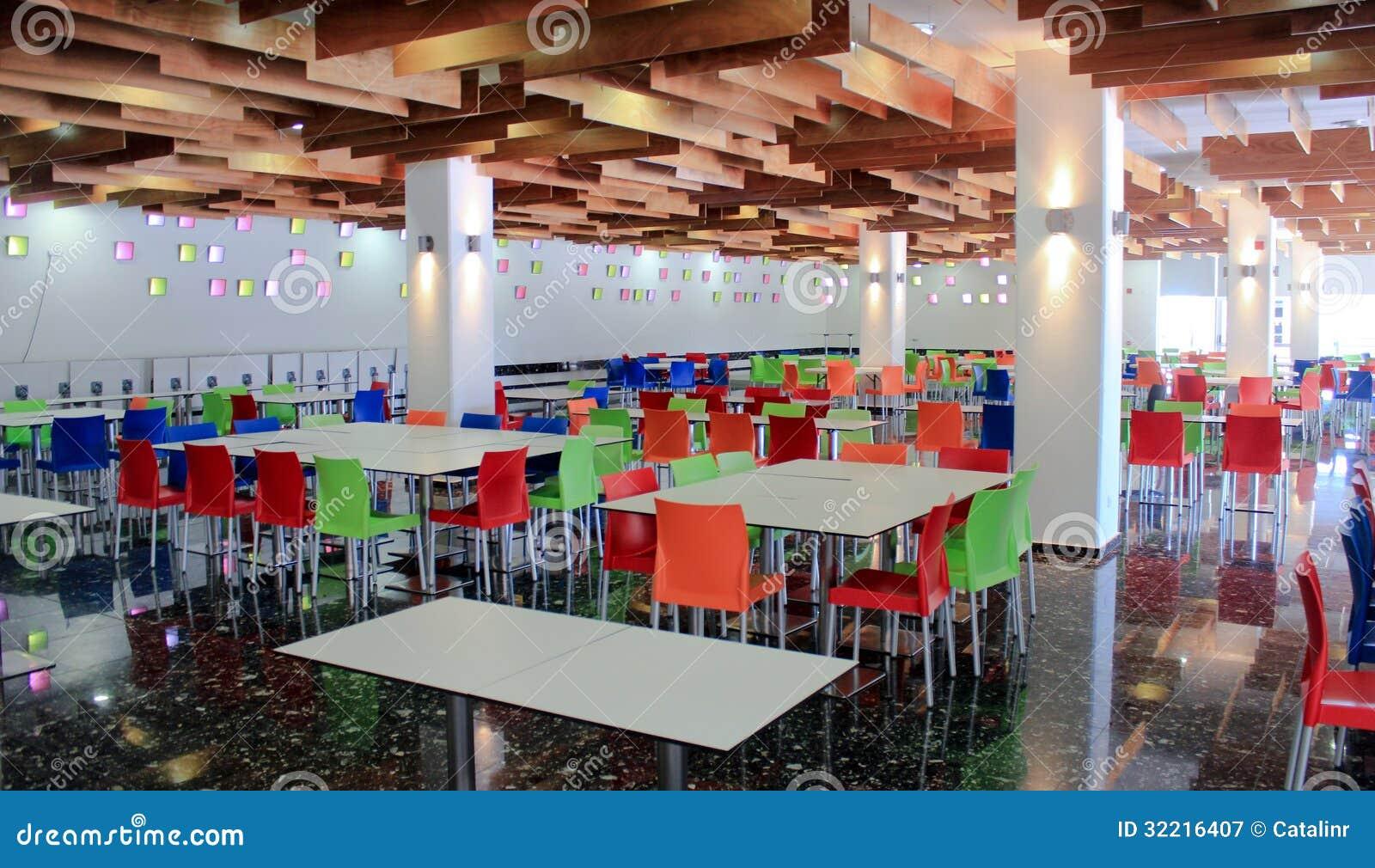 Kolorowy bufet