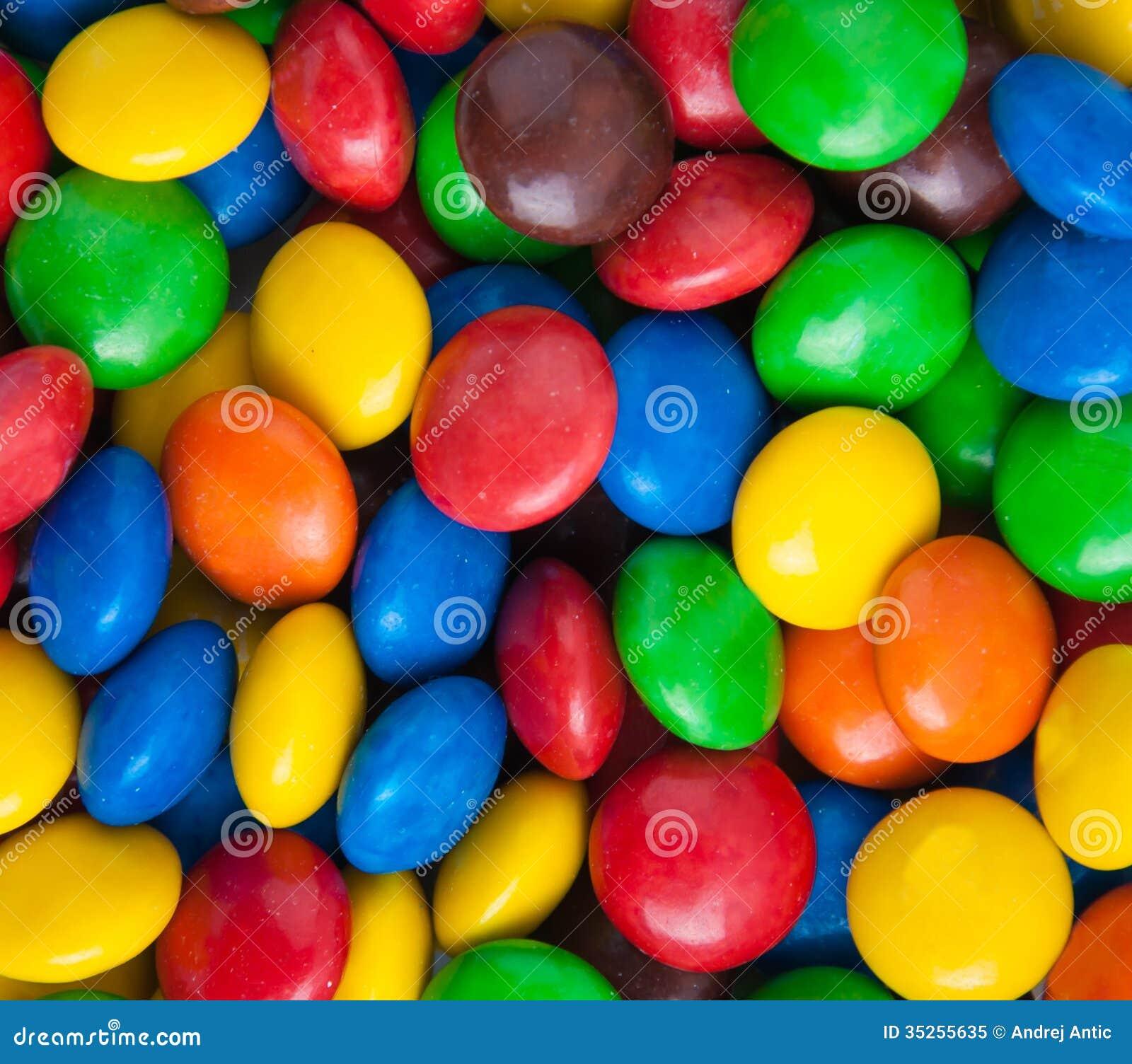 Kolorowy cukierek