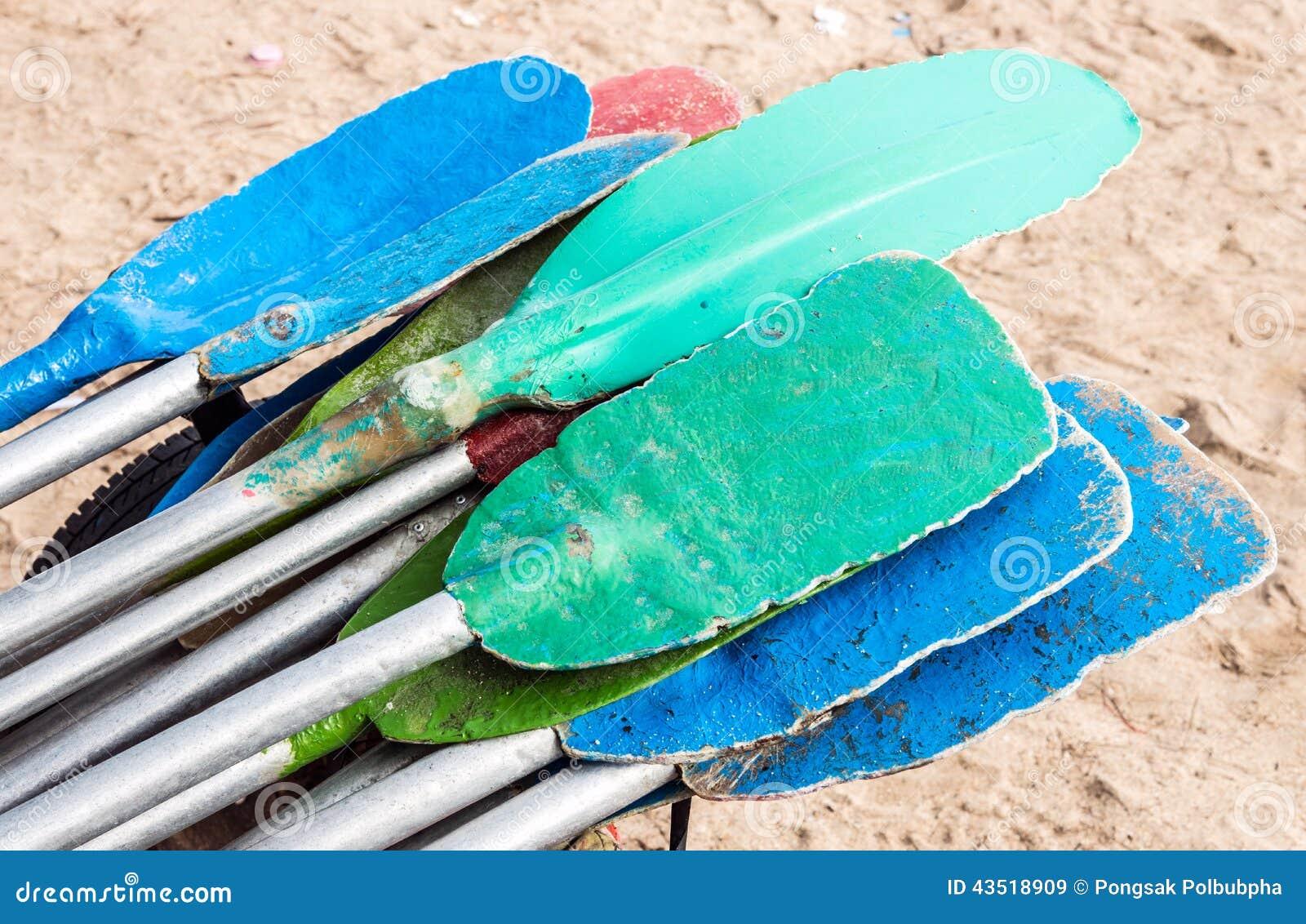 Kolorowy paddle
