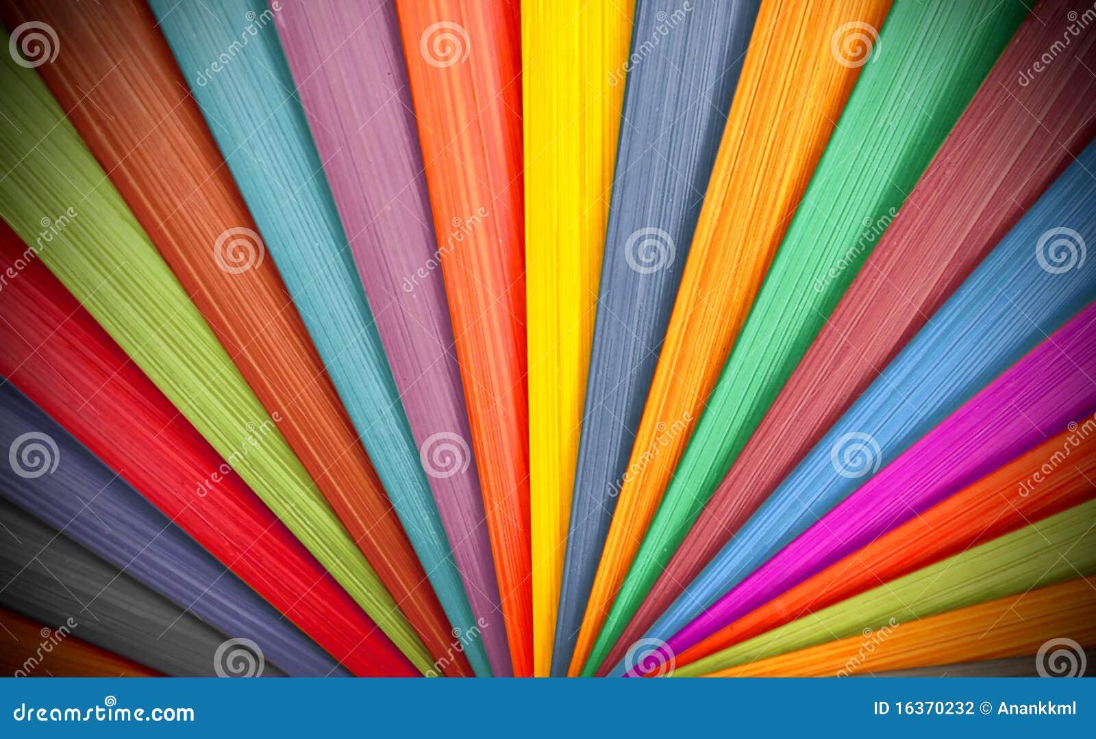 Kolorowy tła drewno