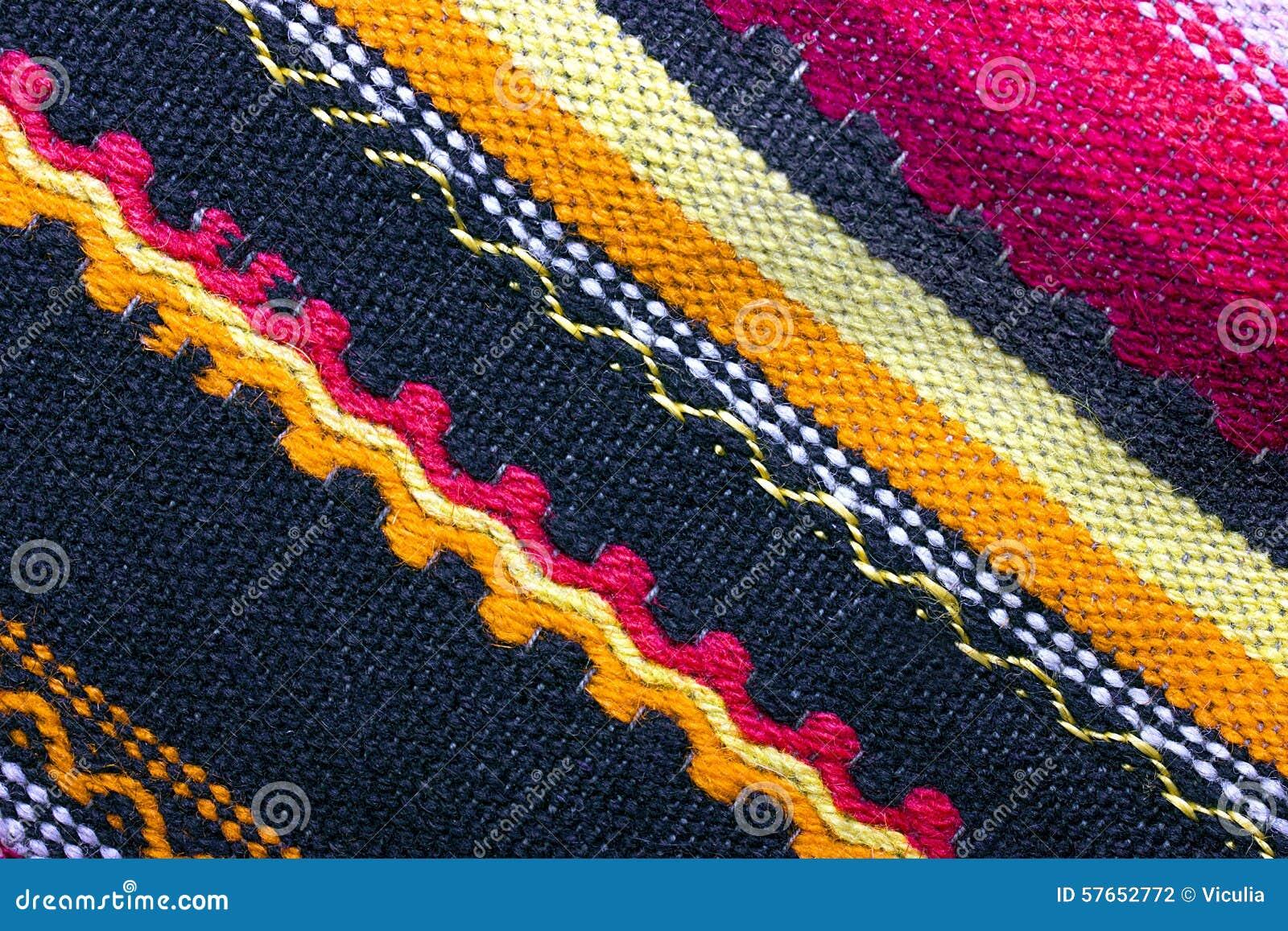 Kolorowy woolen