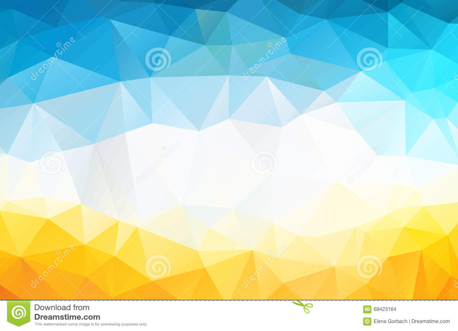 Kolorowy zawijas tęczy wieloboka tło lub wektor rama Abstrakcjonistycznego trójboka Geometrical tło, Wektorowa ilustracja