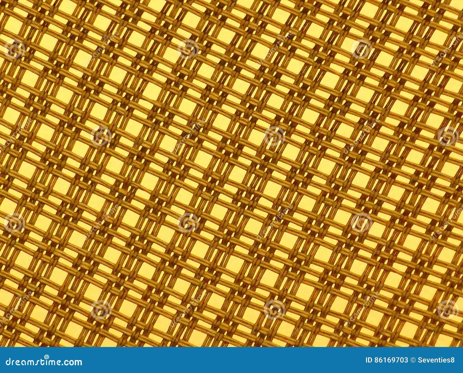 Koloru żółtego drutu wzoru tło